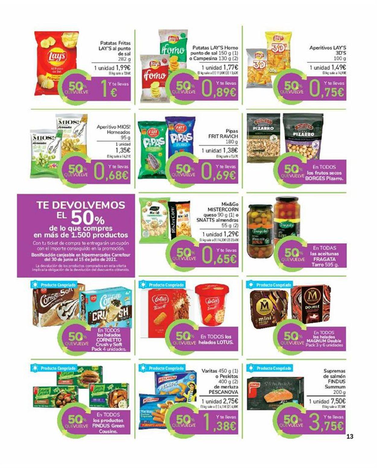 Carrefour Folleto - 17.06-29.06.2021 (Página 13)