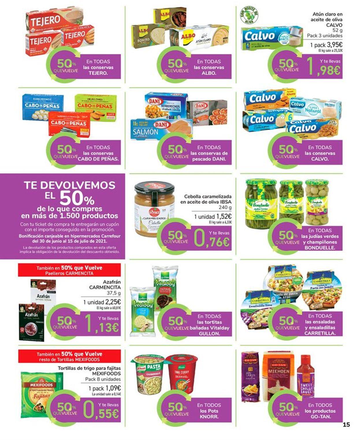 Carrefour Folleto - 17.06-29.06.2021 (Página 15)