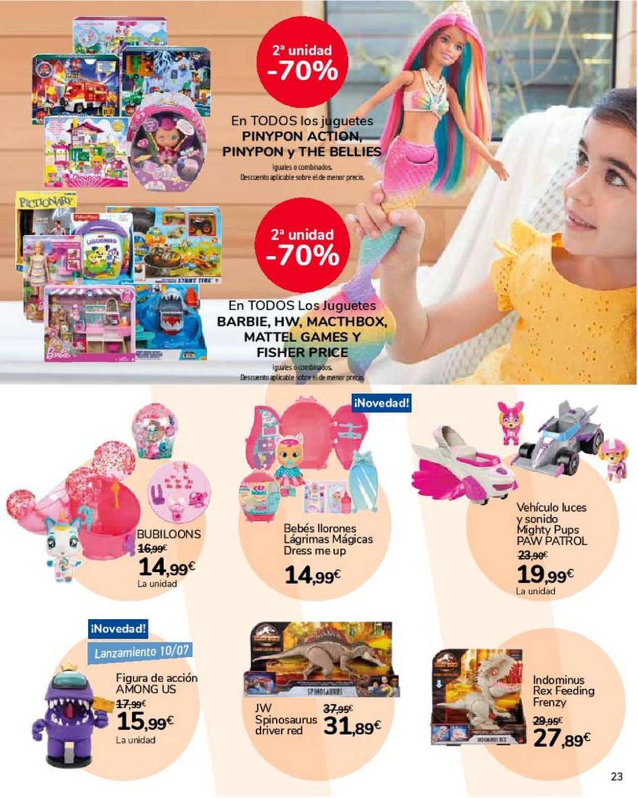 Carrefour Folleto - 22.06-22.07.2021 (Página 23)