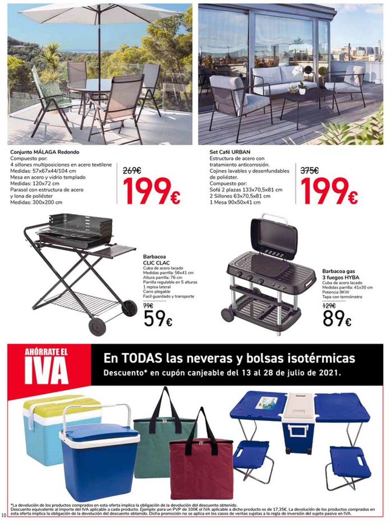 Carrefour Folleto - 06.07-12.07.2021 (Página 10)
