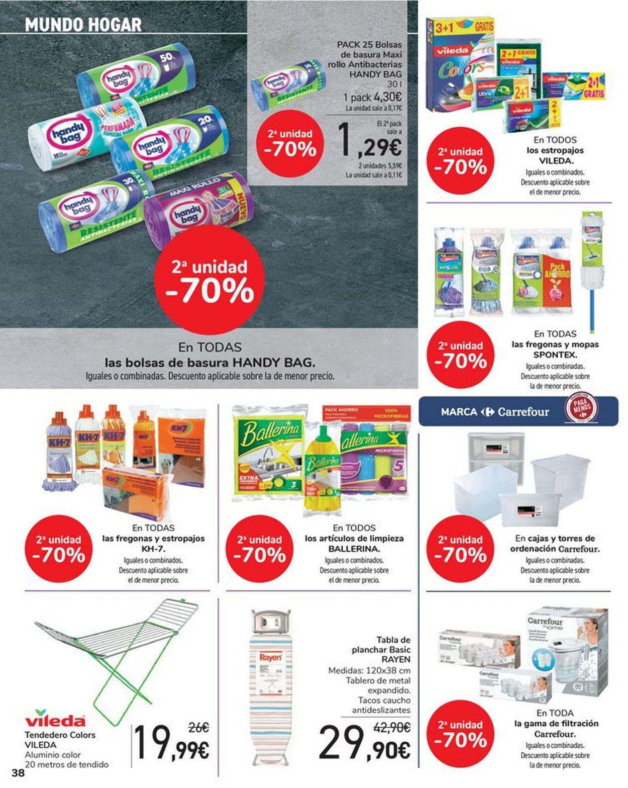 Carrefour Folleto - 16.07-28.07.2021 (Página 38)
