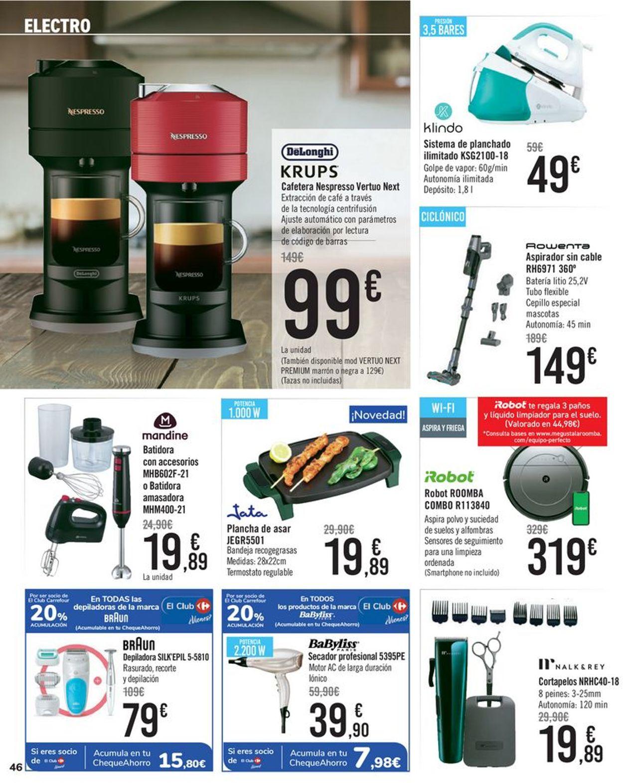Carrefour Folleto - 16.07-28.07.2021 (Página 46)
