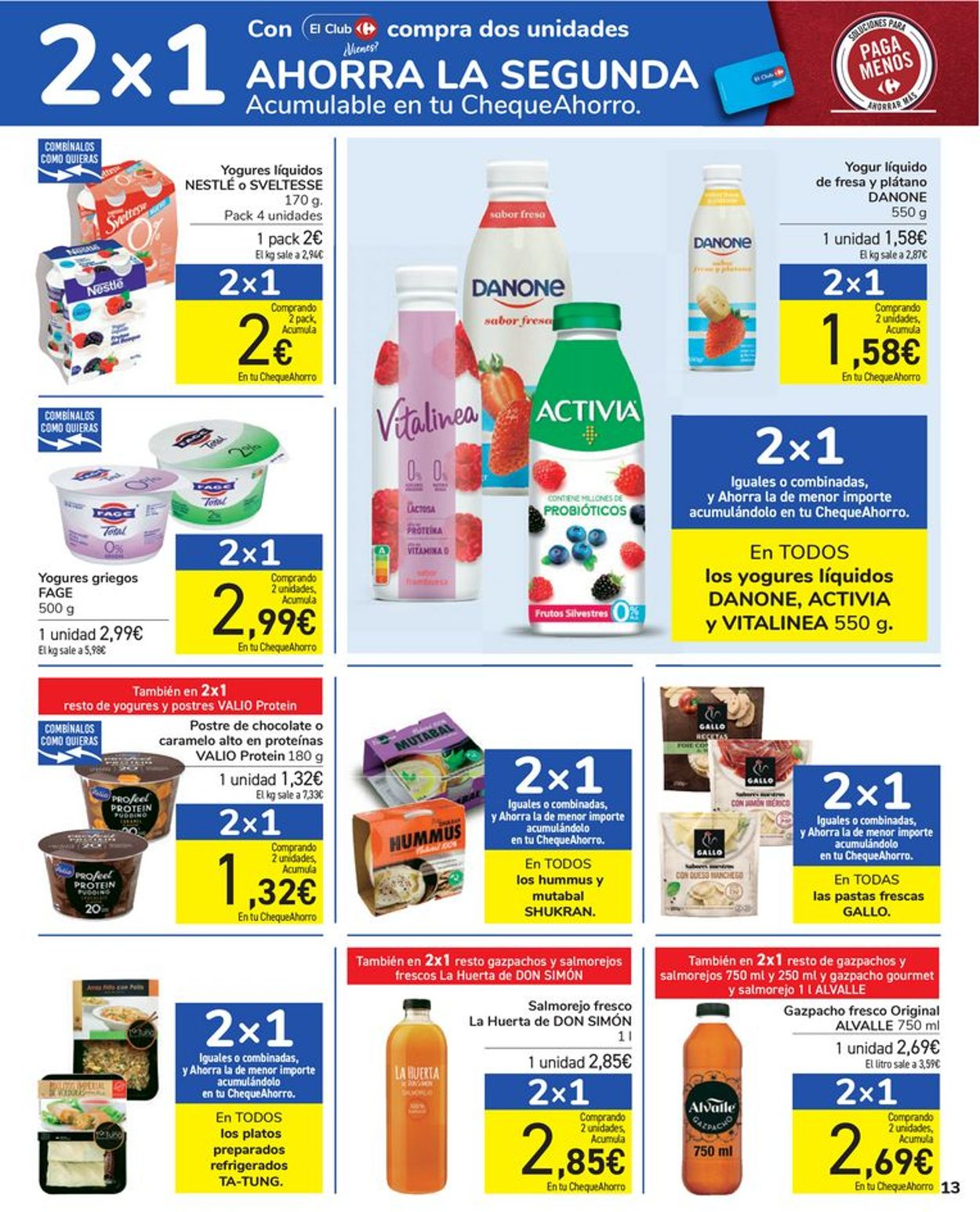 Carrefour Folleto - 16.07-28.07.2021 (Página 13)