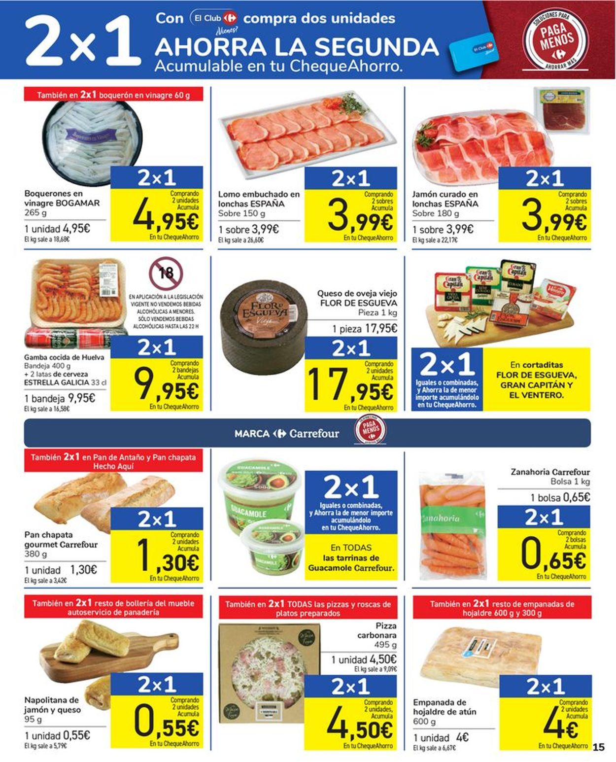 Carrefour Folleto - 16.07-28.07.2021 (Página 15)
