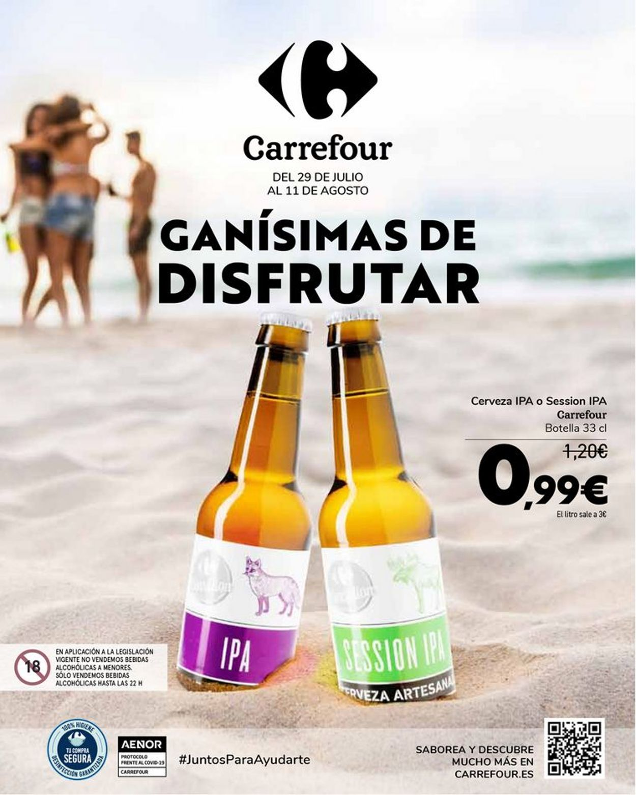 Carrefour Folleto - 29.07-11.08.2021
