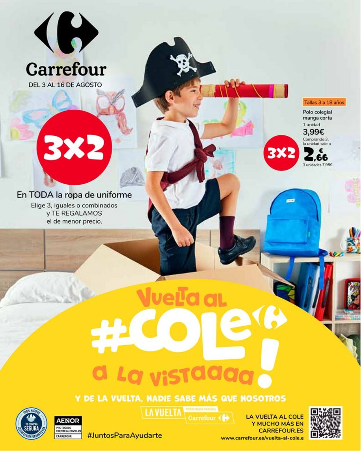 Carrefour Folleto - 03.08-16.08.2021