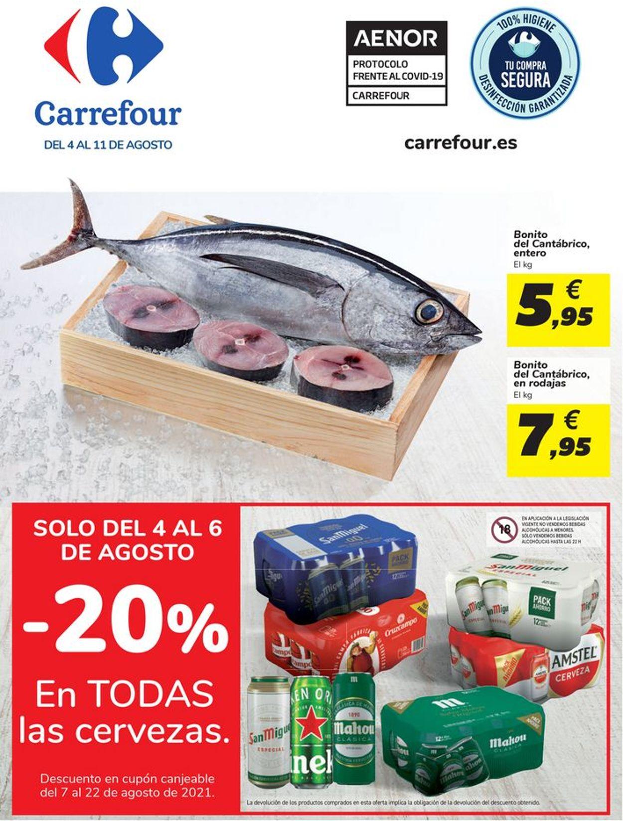 Carrefour Folleto - 04.08-11.08.2021