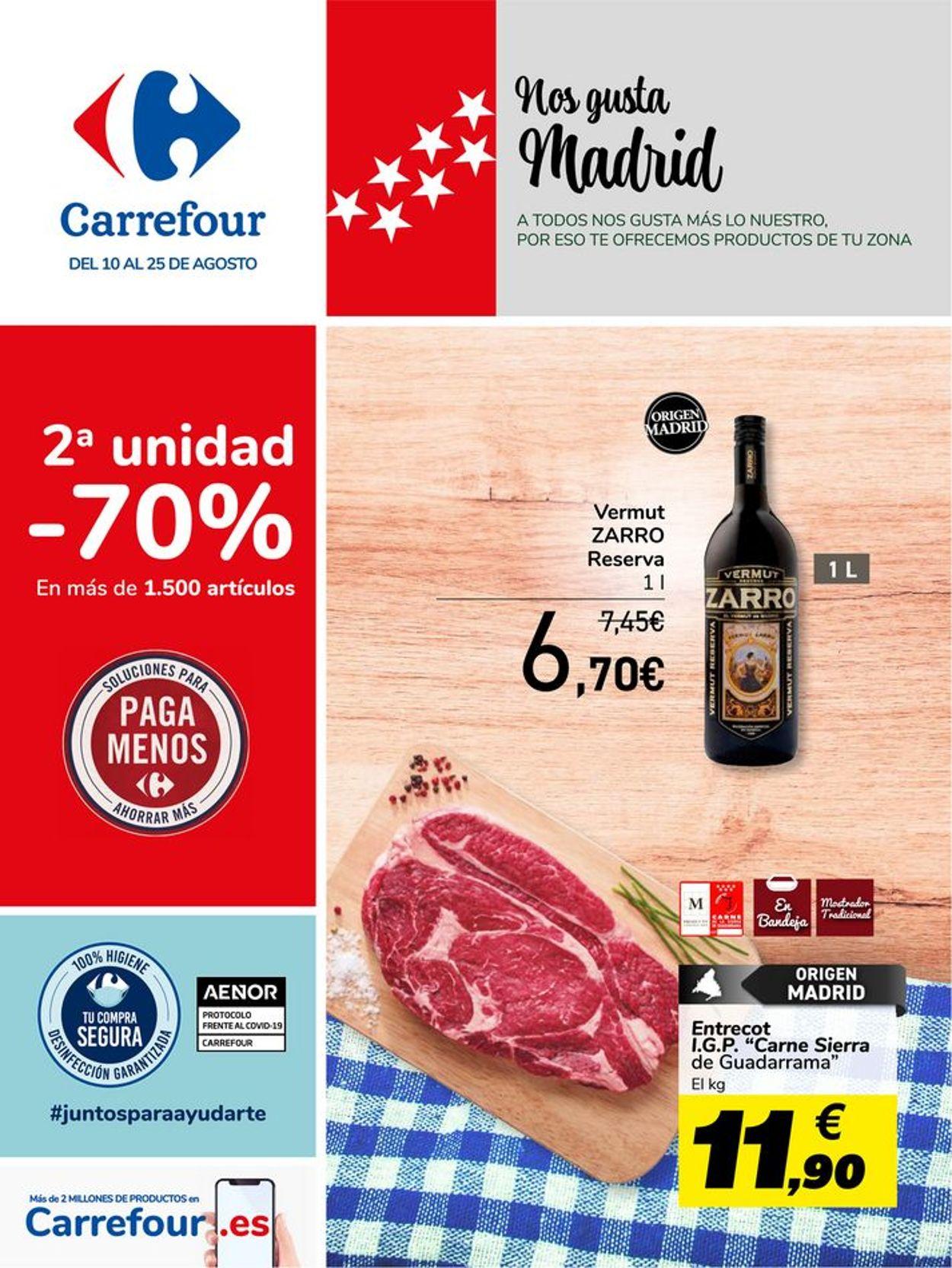 Carrefour Folleto - 10.08-25.08.2021