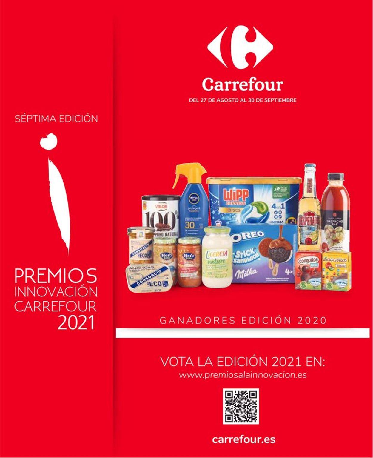 Carrefour Folleto - 27.08-30.09.2021
