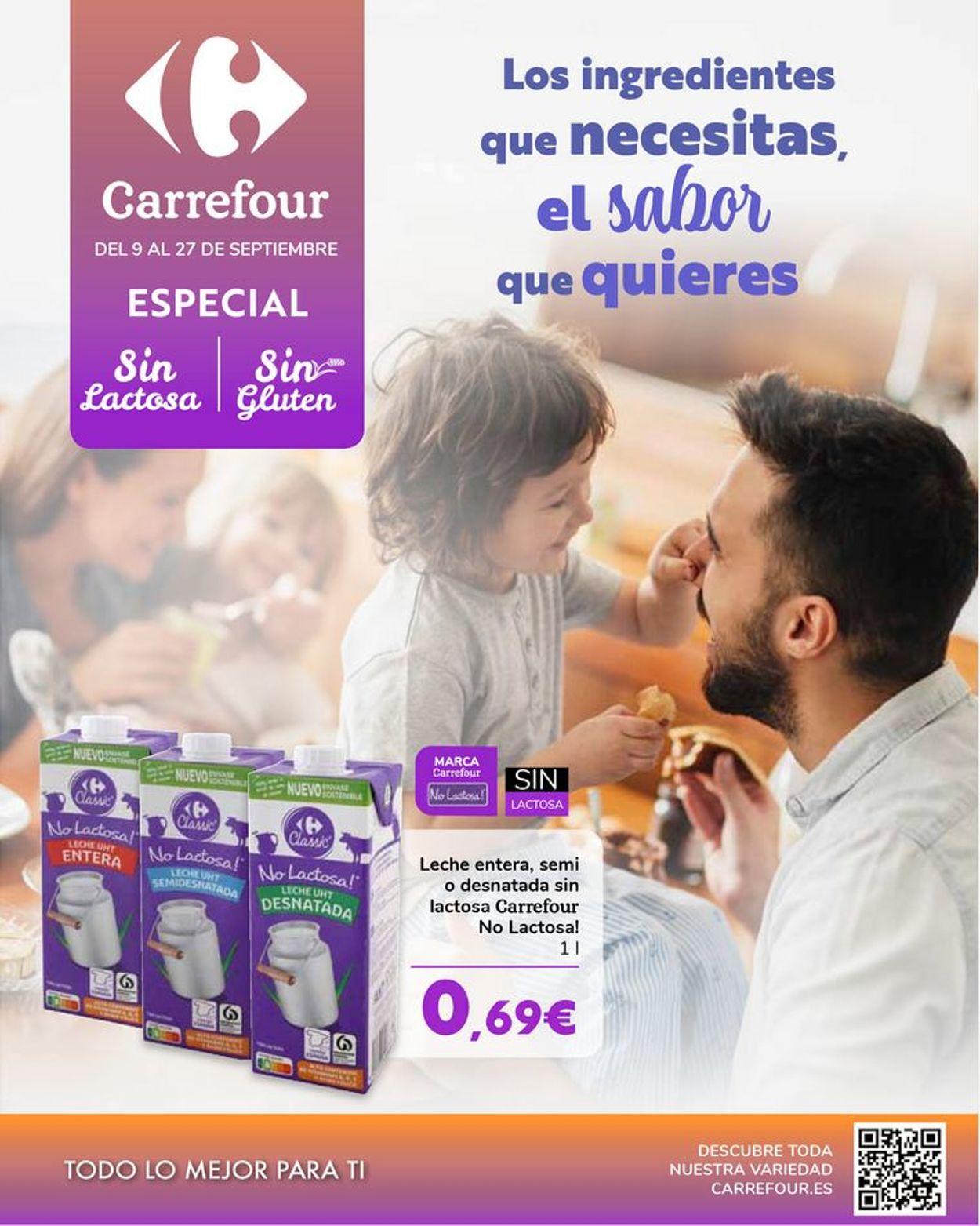 Carrefour Folleto - 09.09-27.09.2021