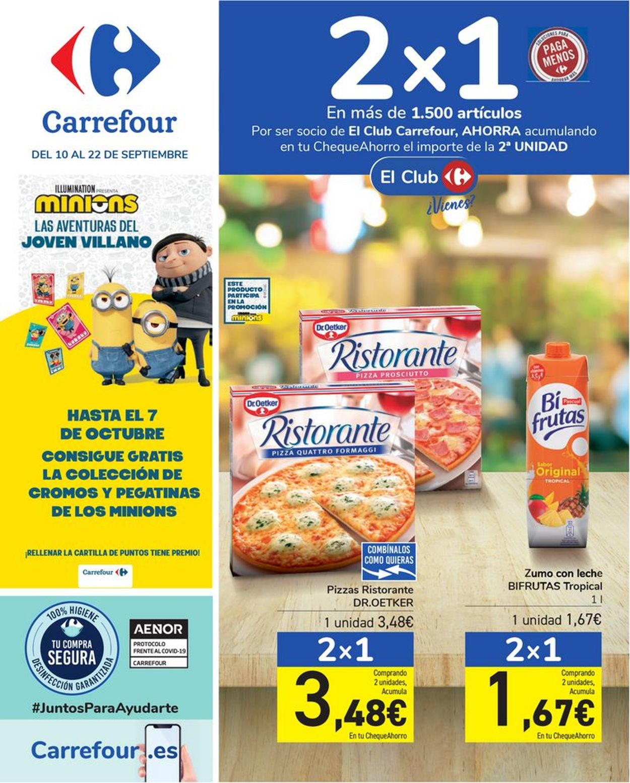 Carrefour Folleto - 10.09-22.09.2021