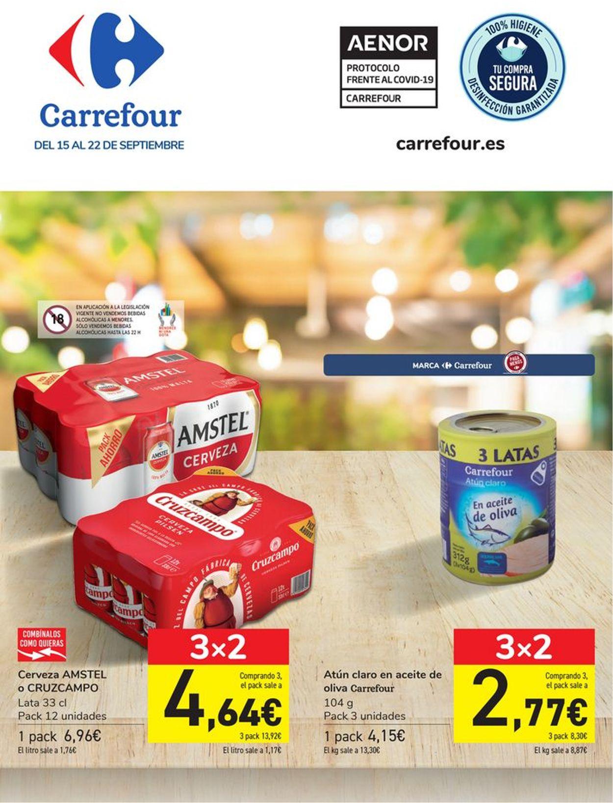 Carrefour Folleto - 15.09-22.09.2021