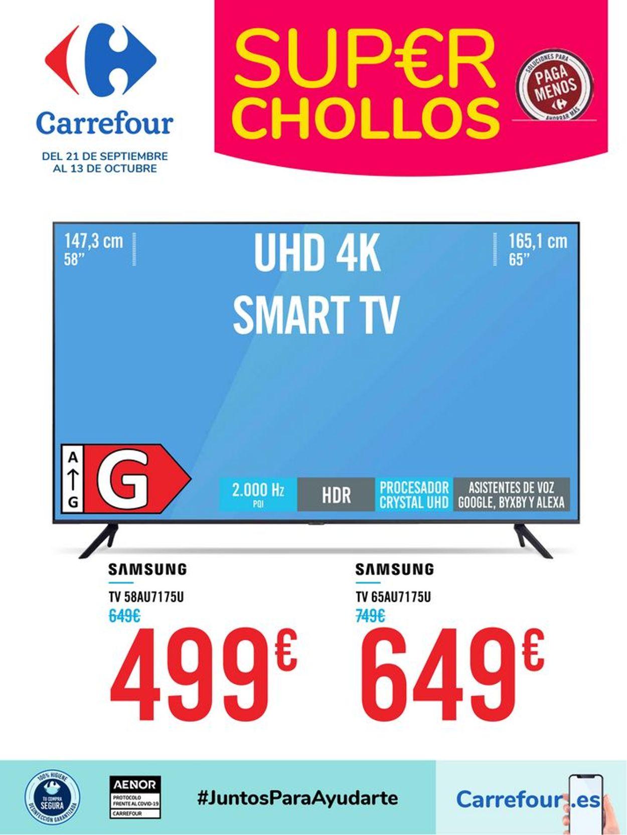 Carrefour Folleto - 21.09-13.10.2021