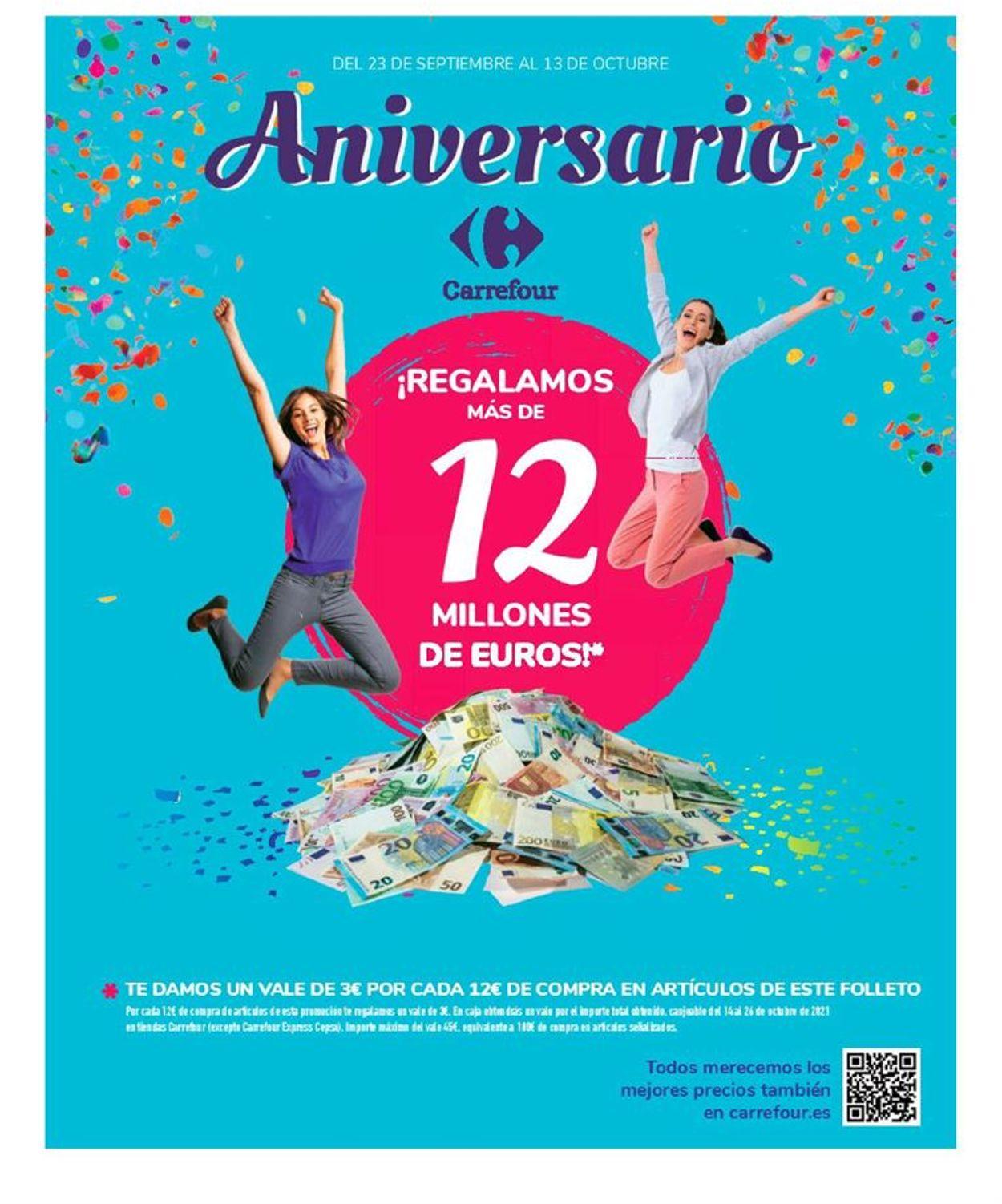 Carrefour Folleto - 23.09-13.10.2021