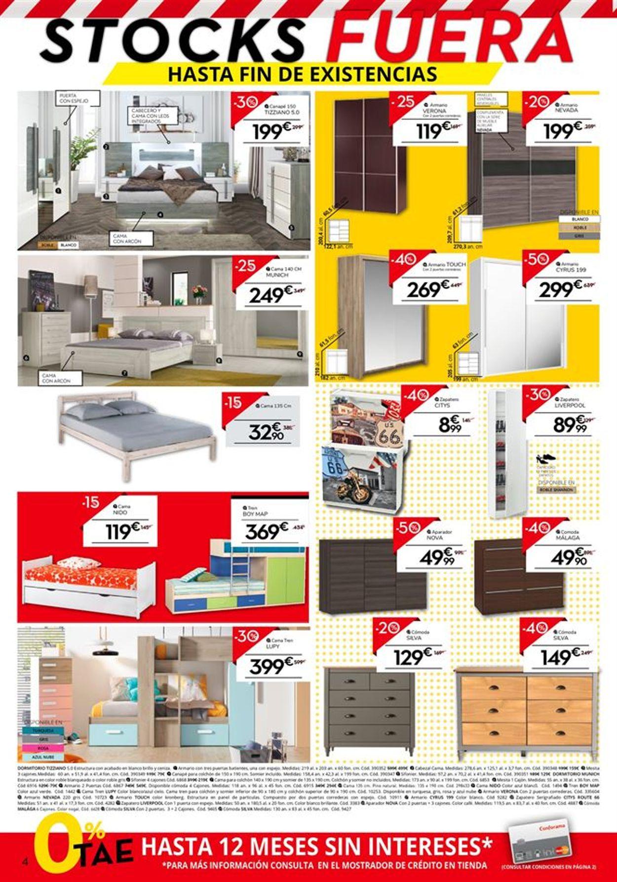 Conforama Folleto - 11.07-01.08.2019 (Página 4)