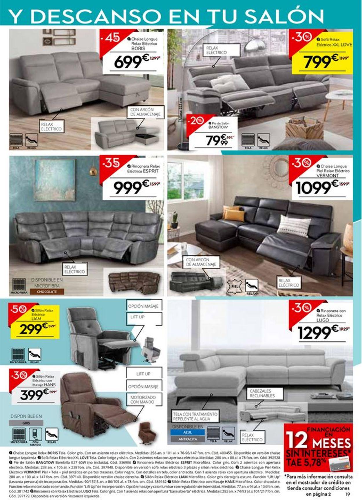 Conforama Folleto - 30.07-27.08.2020 (Página 19)