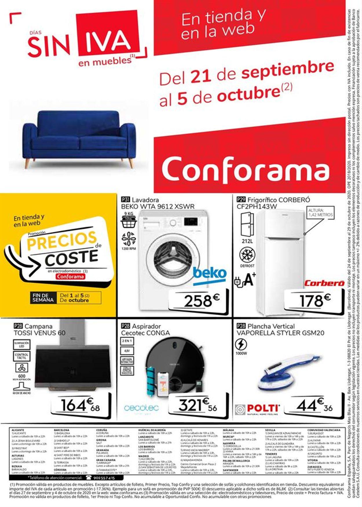 Conforama Folleto - 24.09-29.10.2020 (Página 32)