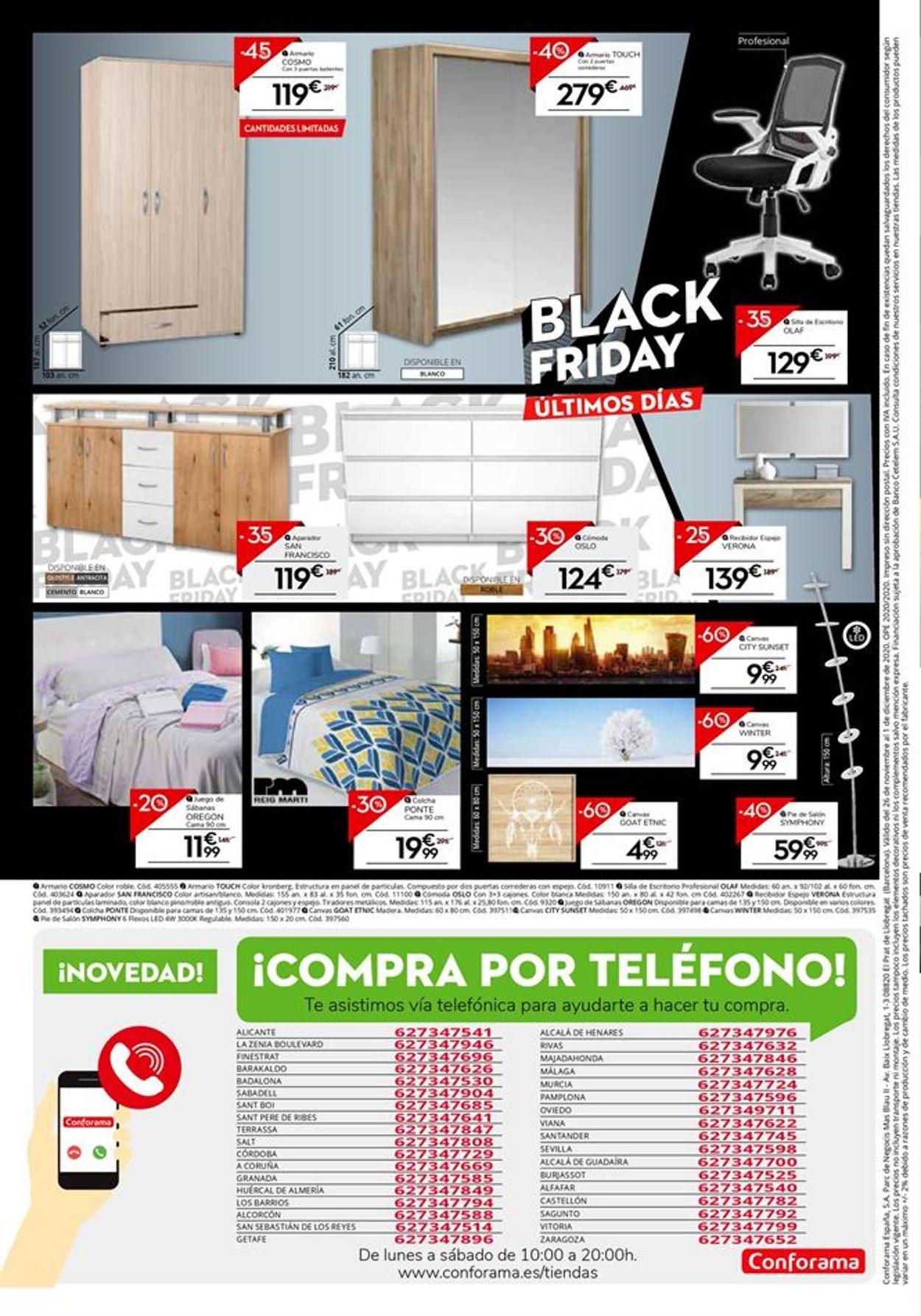 Conforama Black Friday 2020 Folleto - 26.11-01.12.2020 (Página 4)