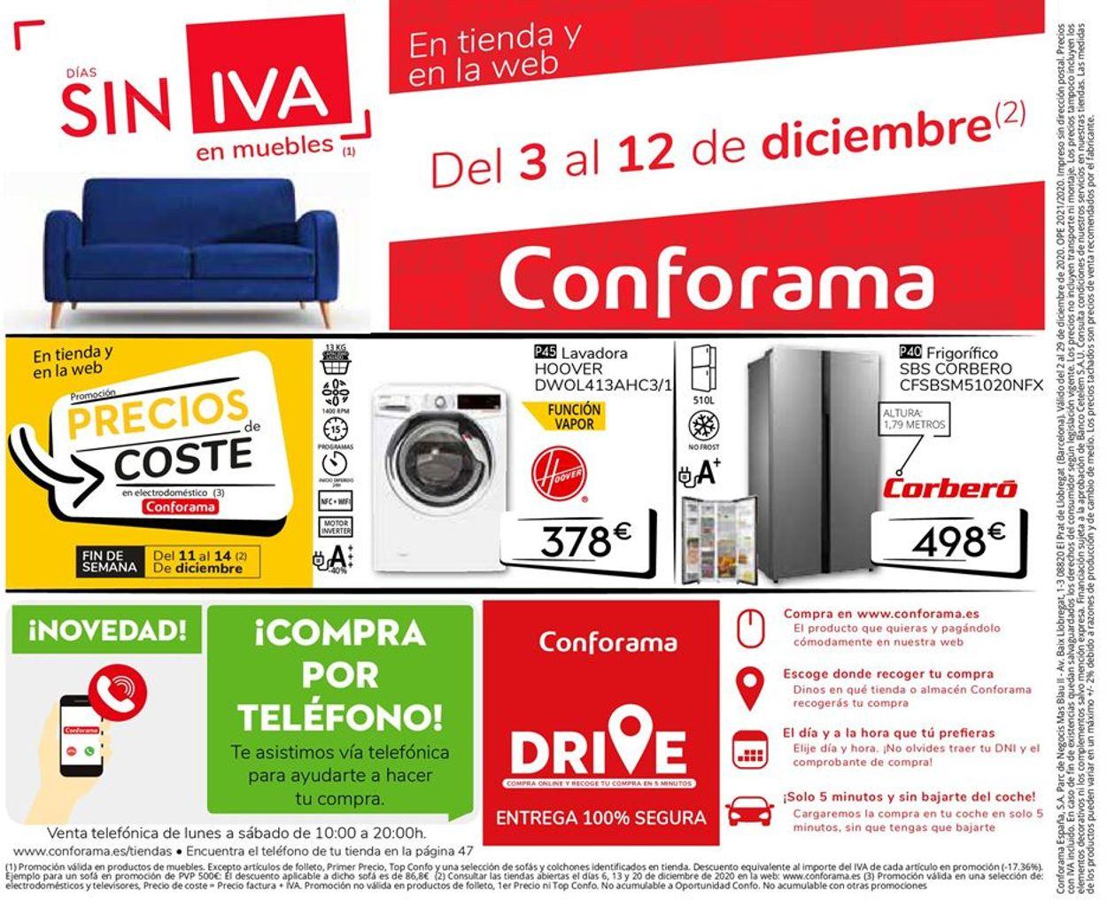 Conforama Folleto - 02.12-29.12.2020 (Página 48)