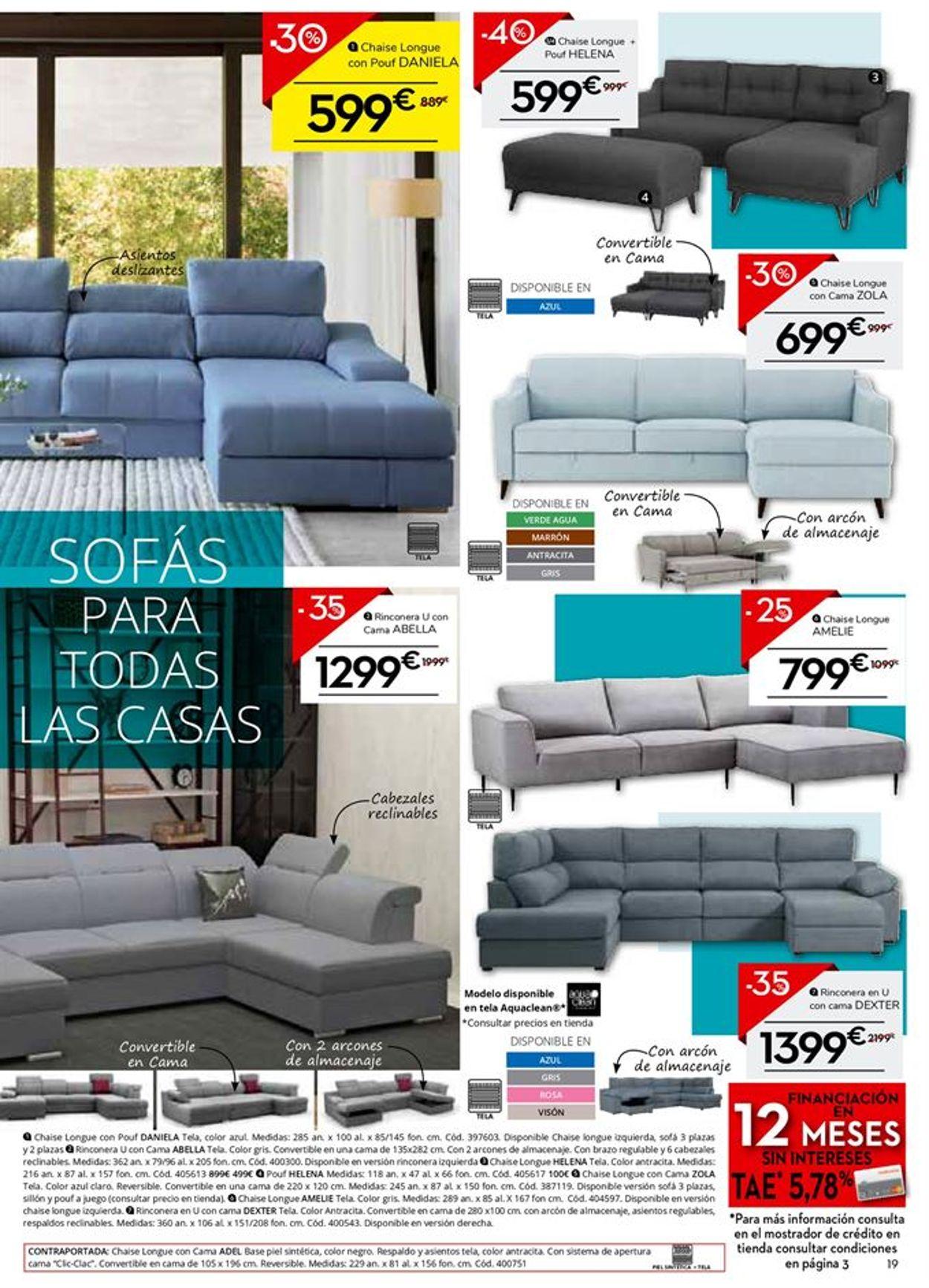 Conforama Colchones 2021 Folleto - 21.01-18.02.2021 (Página 19)