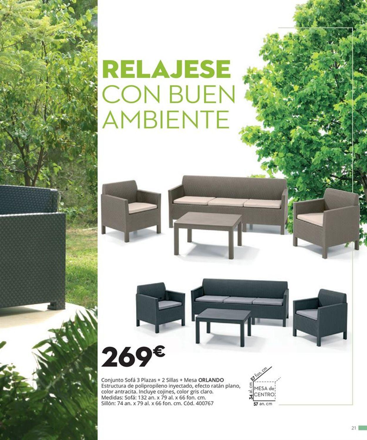 Conforama Folleto - 09.04-31.08.2021 (Página 21)