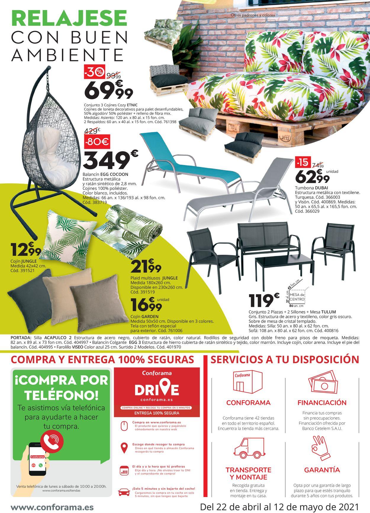 Conforama Folleto - 22.04-12.05.2021 (Página 4)