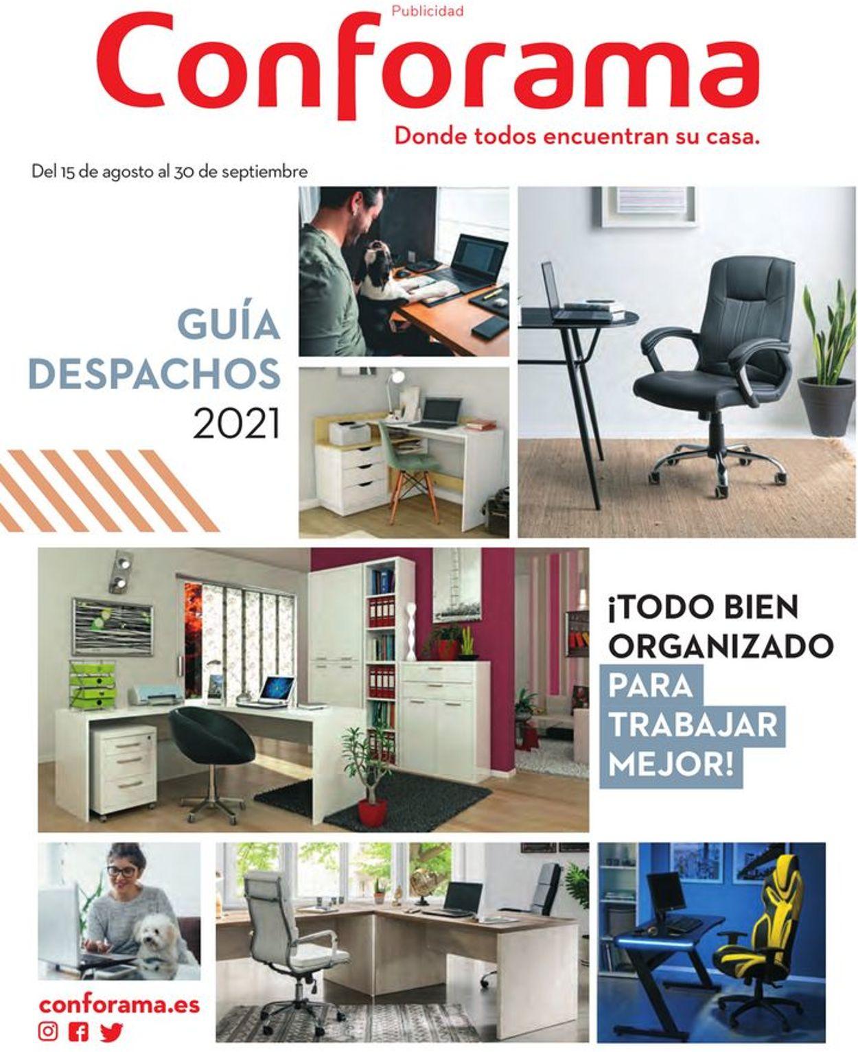 Conforama Folleto - 15.08-30.09.2021