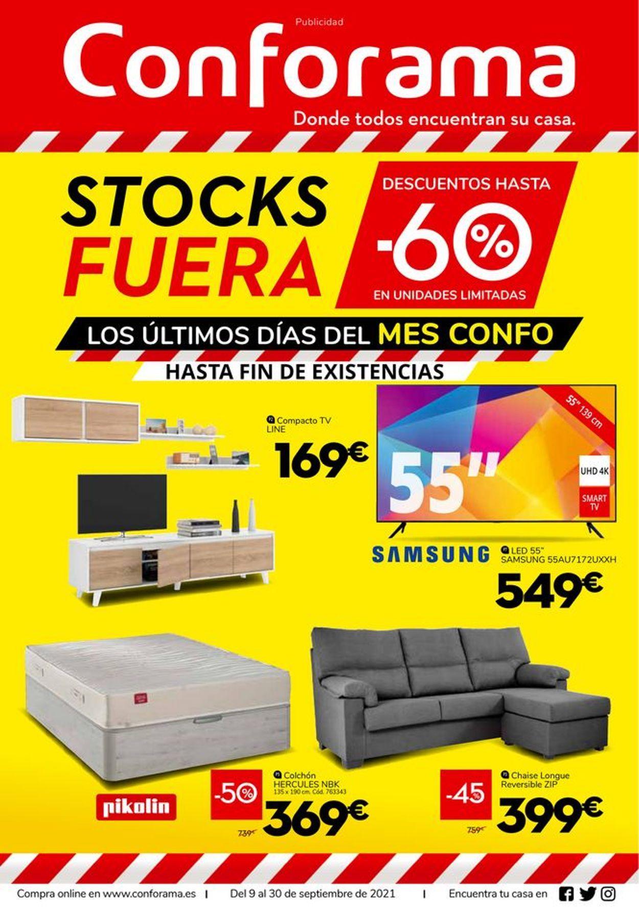 Conforama Folleto - 09.09-30.09.2021
