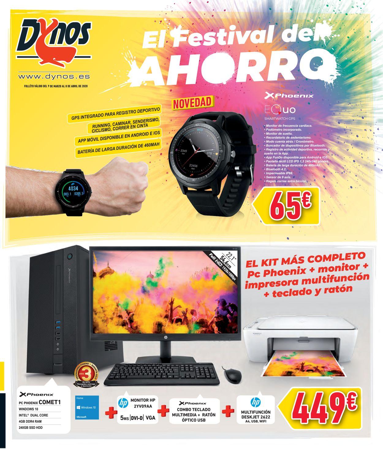 Dynos Folleto - 09.03-08.04.2020