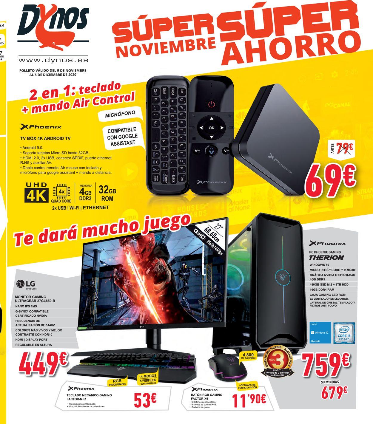 Dynos Folleto - 05.11-09.12.2020