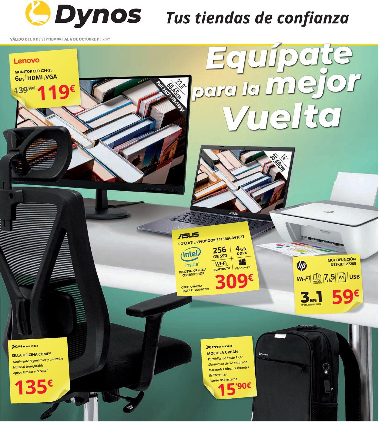 Dynos Folleto - 08.09-06.10.2021