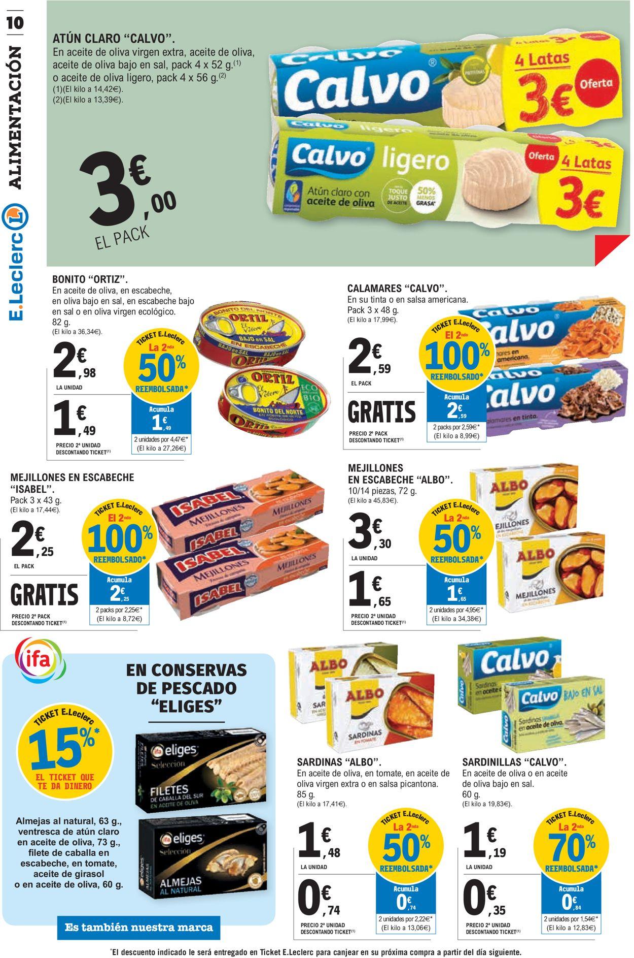 E.leclerc Folleto - 10.06-21.06.2020 (Página 10)
