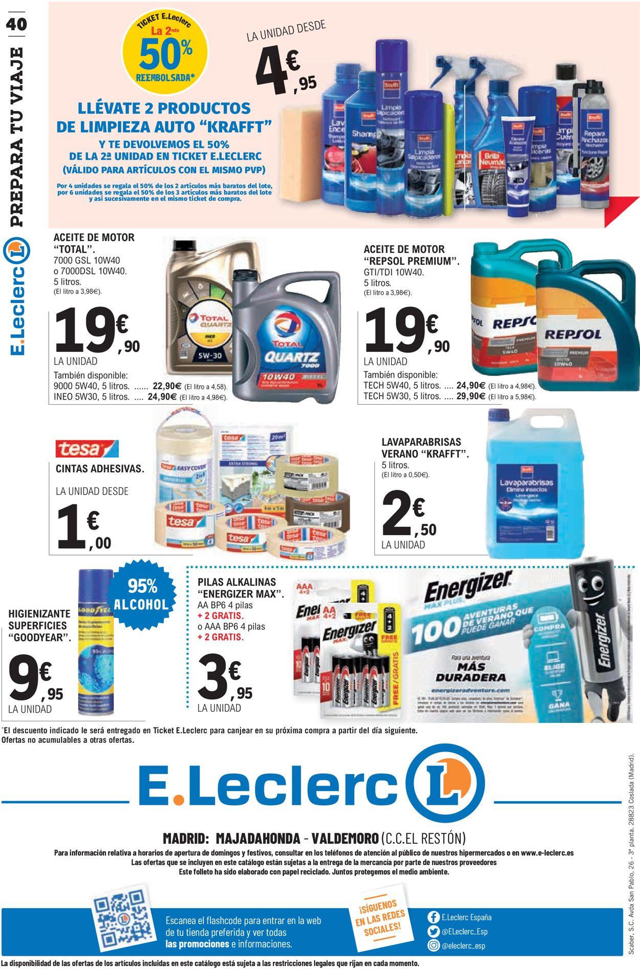 E.leclerc Folleto - 24.06-05.07.2020 (Página 40)