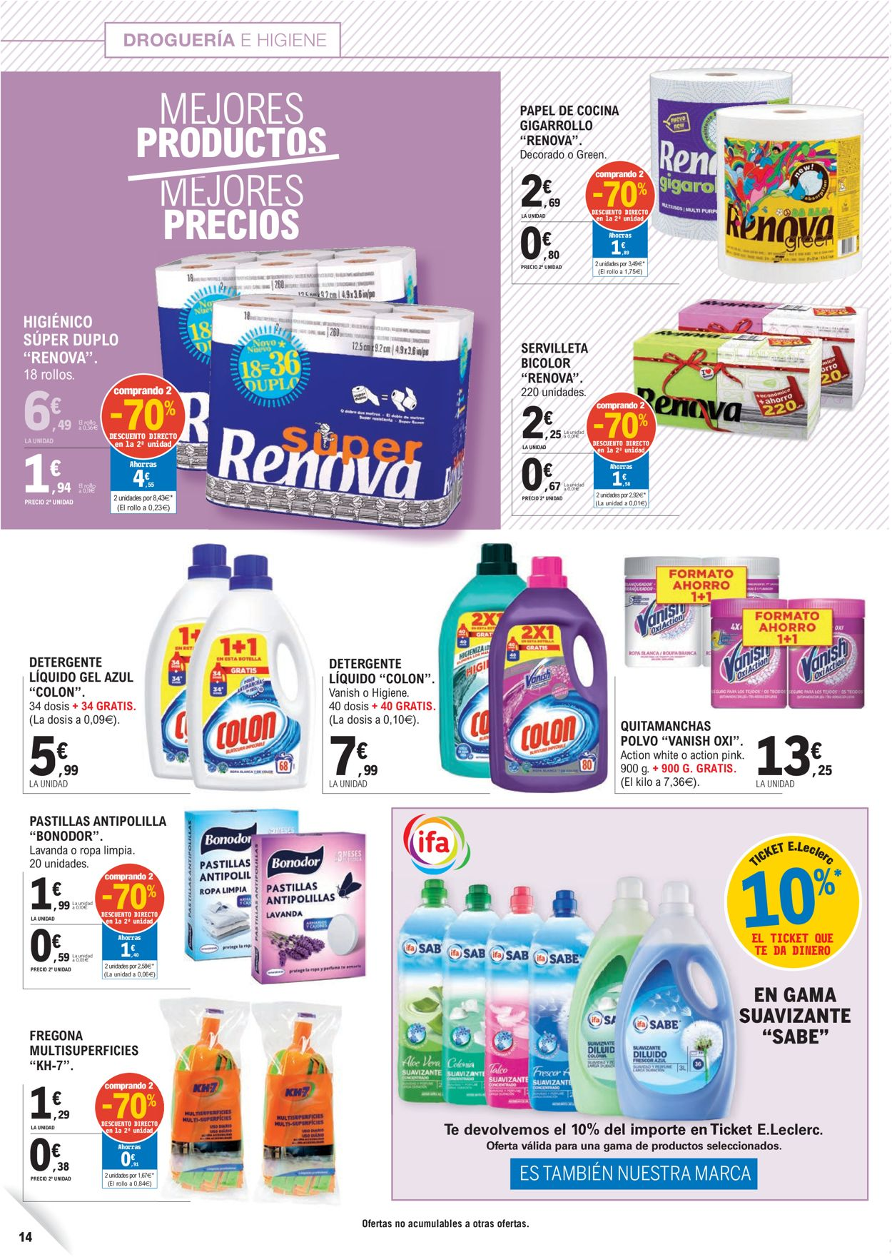 E.leclerc Folleto - 23.09-04.10.2020 (Página 14)