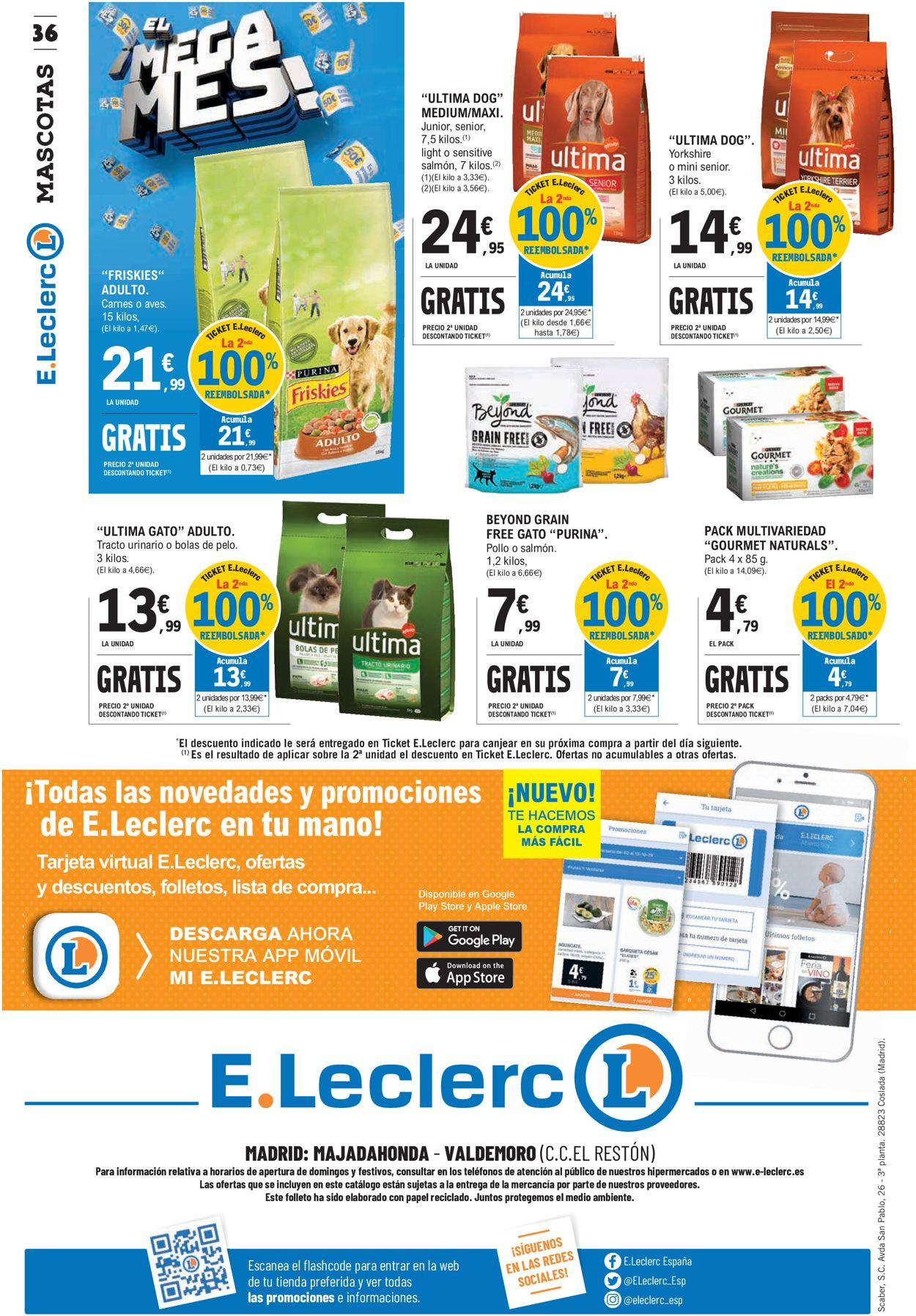 E.leclerc Folleto - 30.09-11.10.2020 (Página 36)