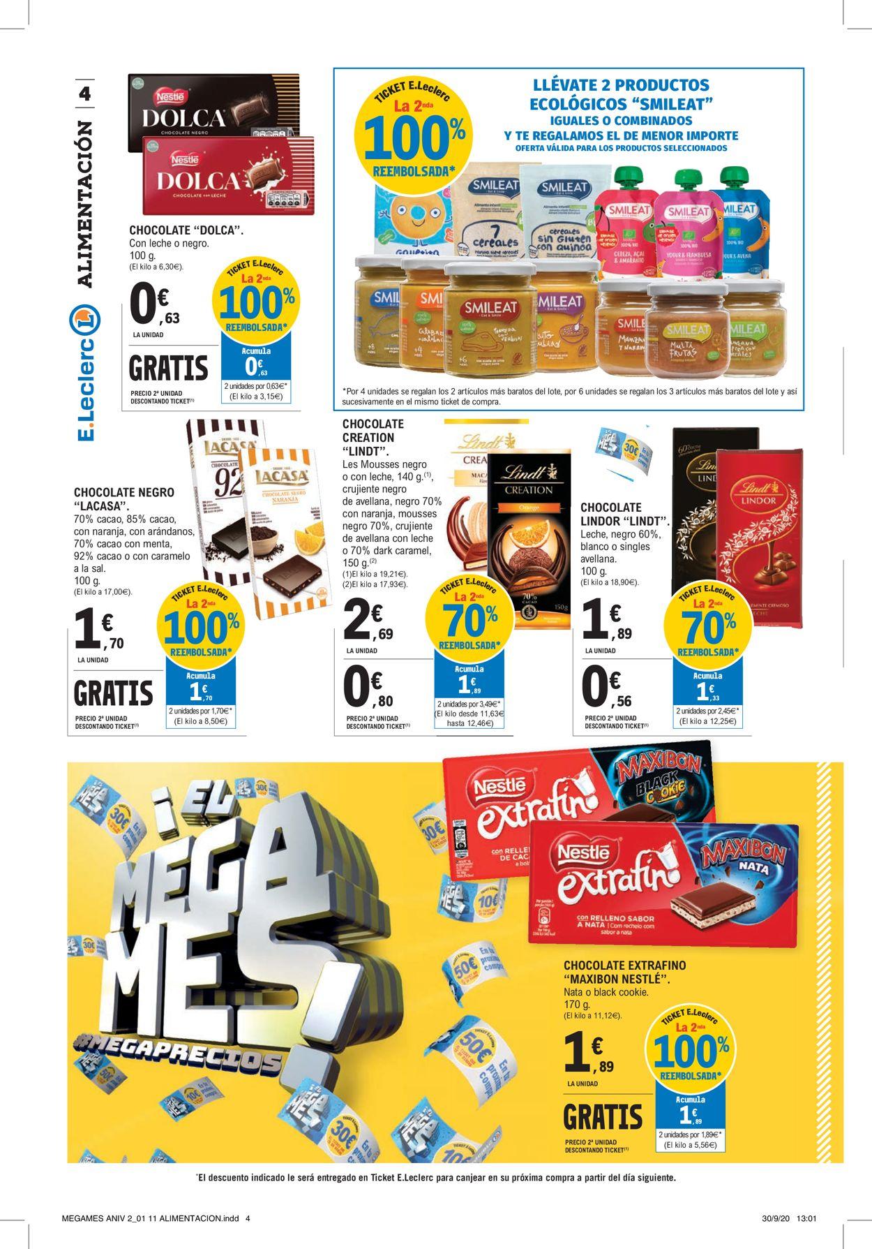 E.leclerc Folleto - 12.10-25.10.2020 (Página 4)