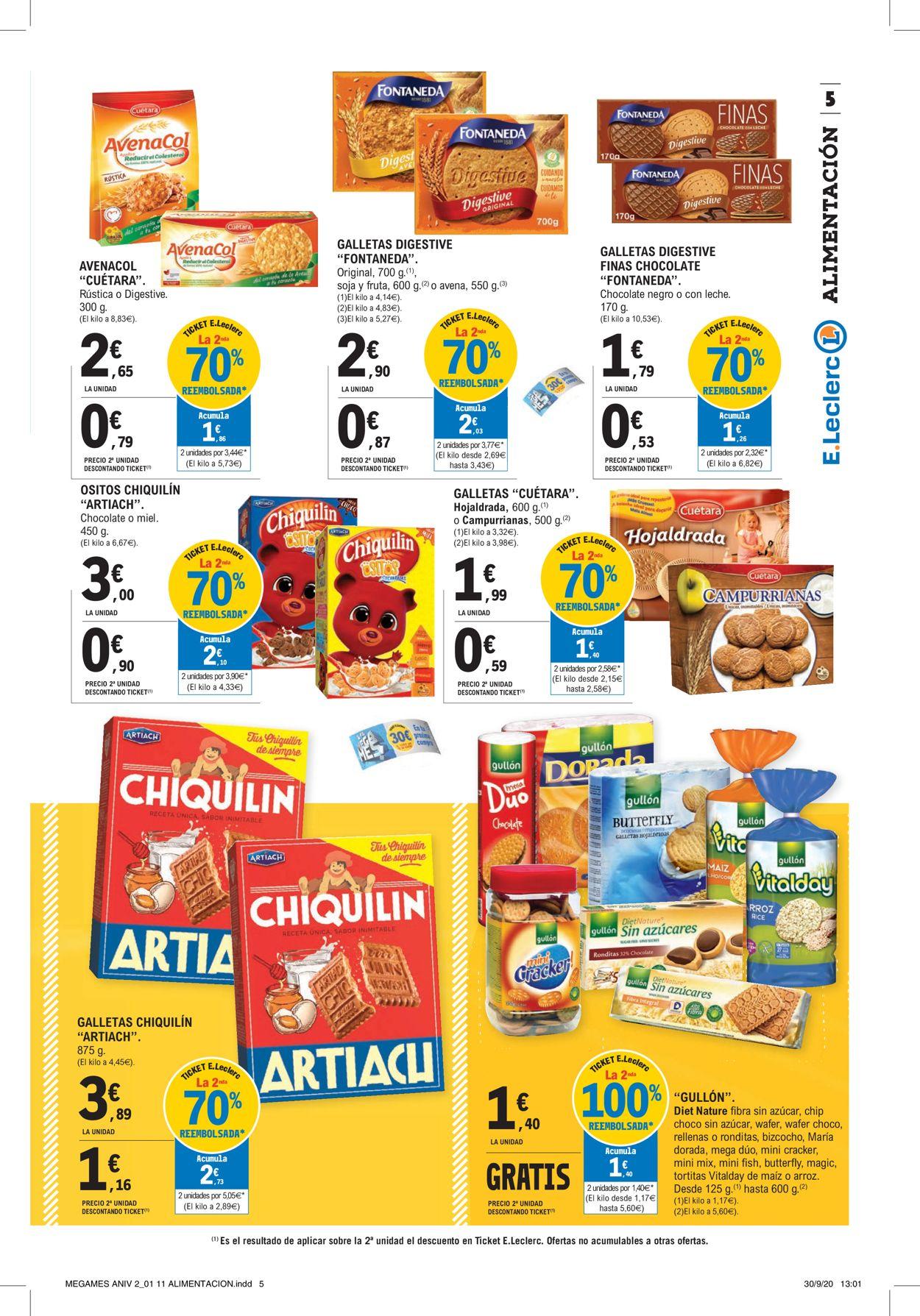 E.leclerc Folleto - 12.10-25.10.2020 (Página 5)