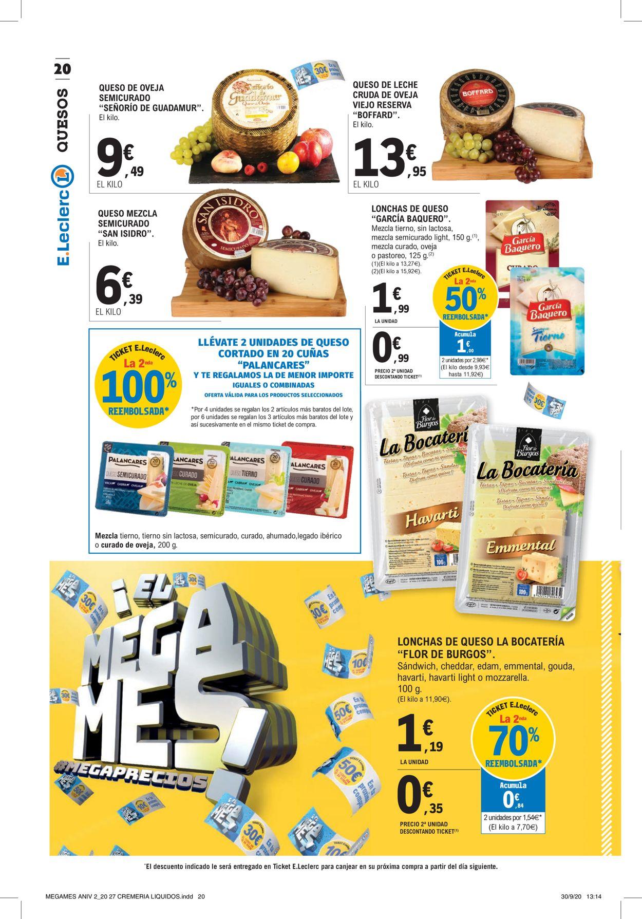 E.leclerc Folleto - 12.10-25.10.2020 (Página 20)