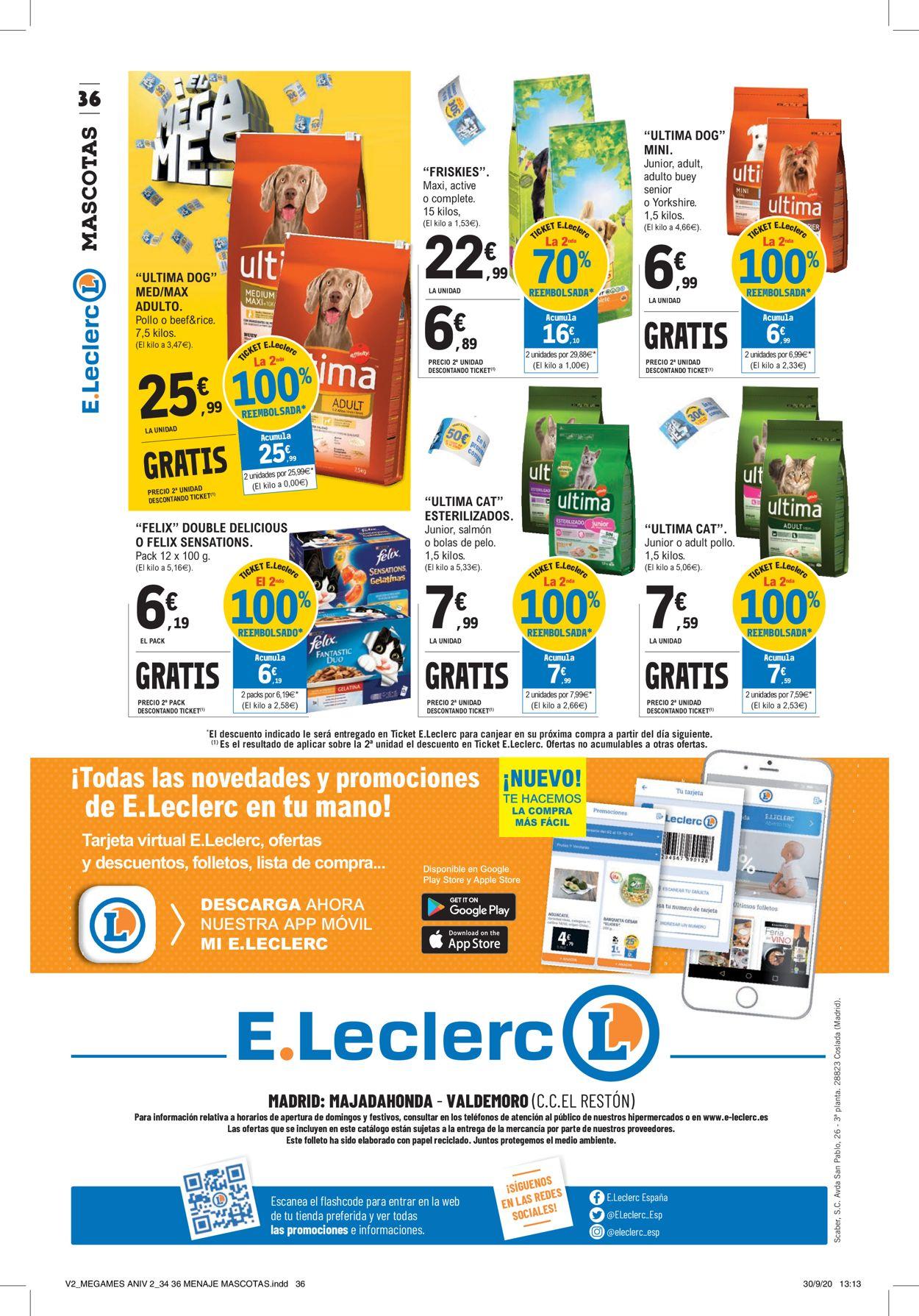 E.leclerc Folleto - 12.10-25.10.2020 (Página 36)