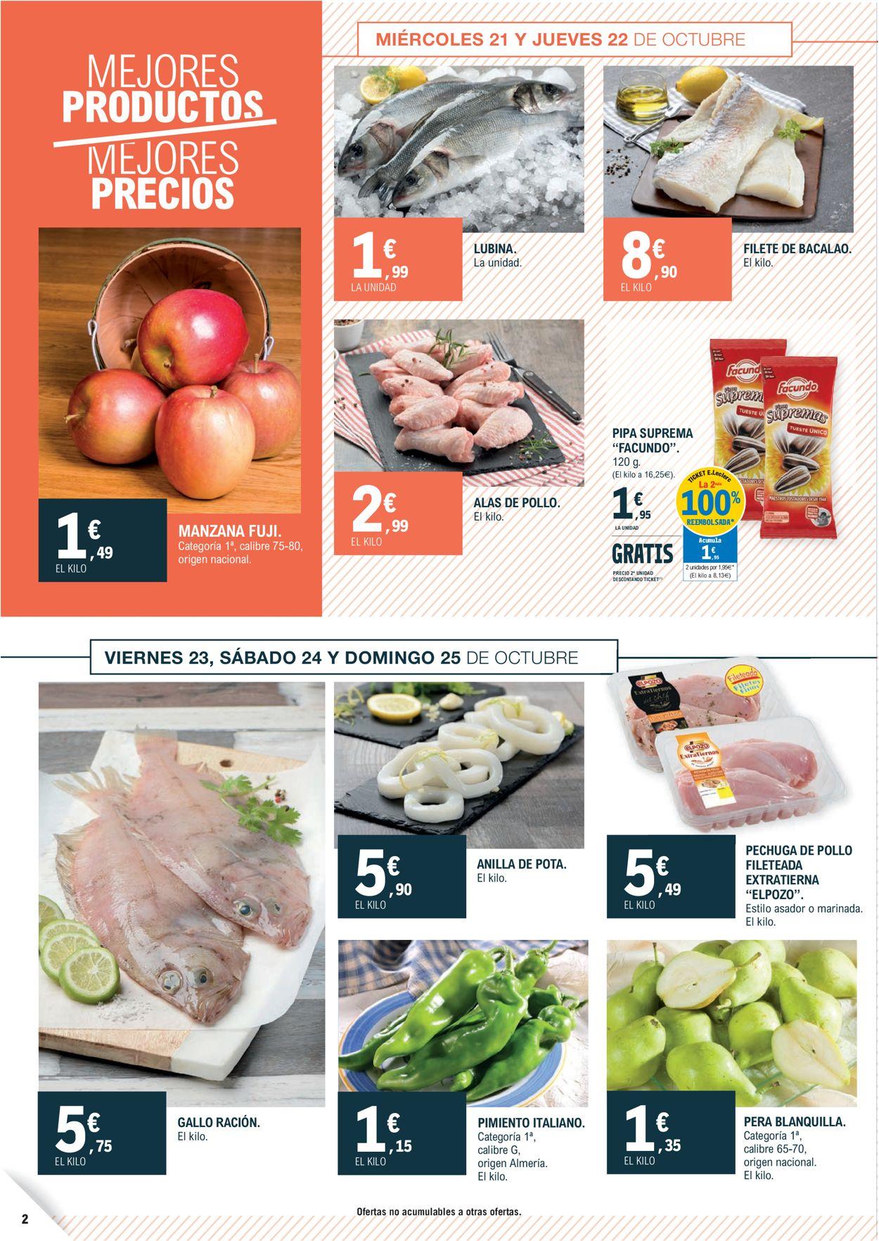 E.leclerc Folleto - 21.10-01.11.2020 (Página 2)