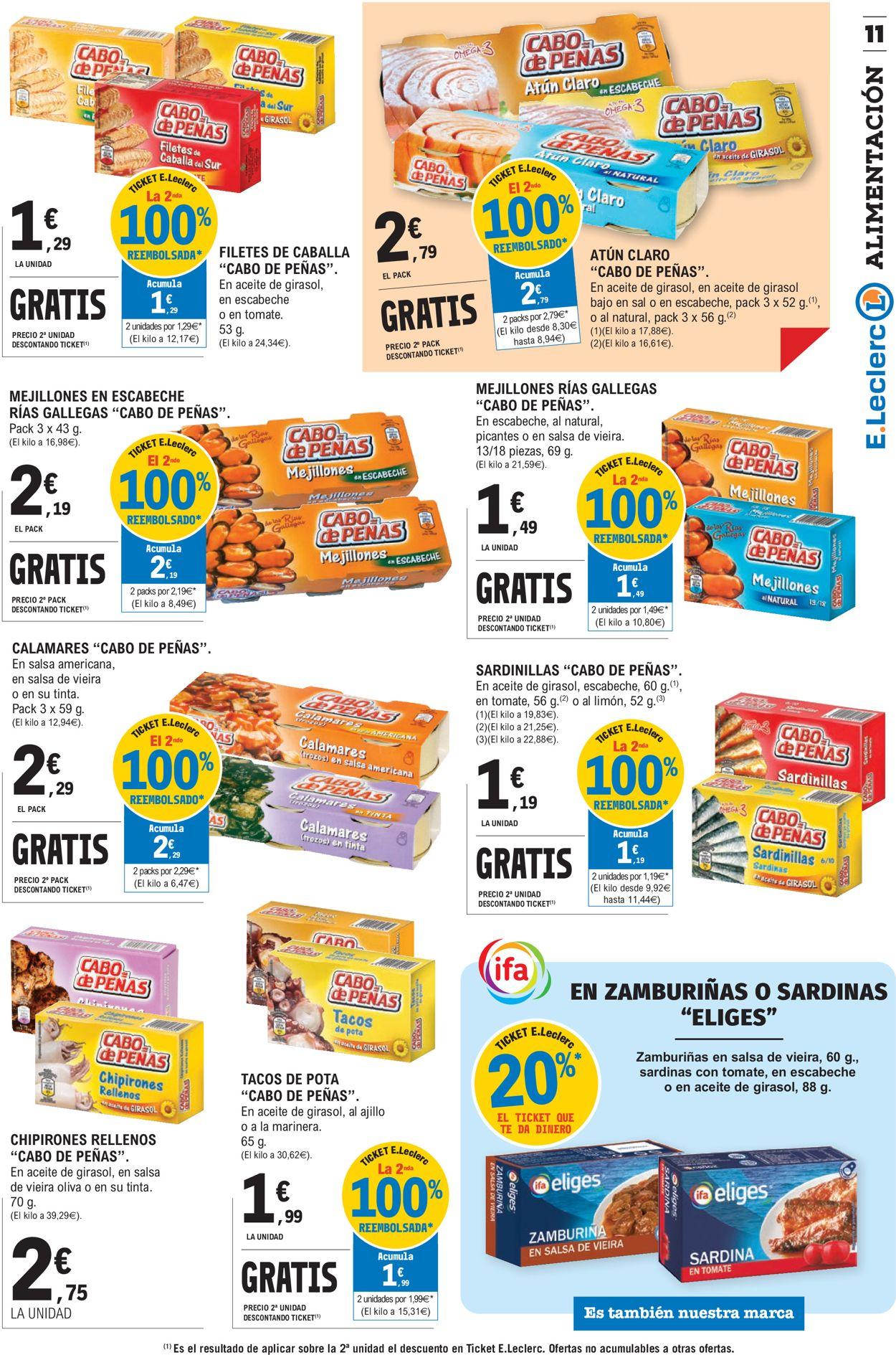 E.leclerc Folleto - 11.11-22.11.2020 (Página 11)
