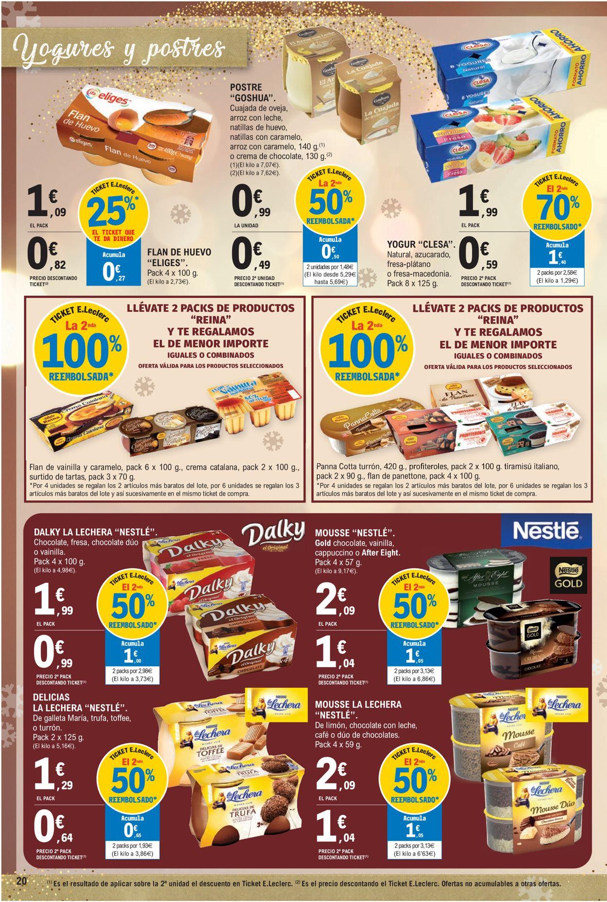 E.leclerc Navidad 2020 Folleto - 09.12-24.12.2020 (Página 20)