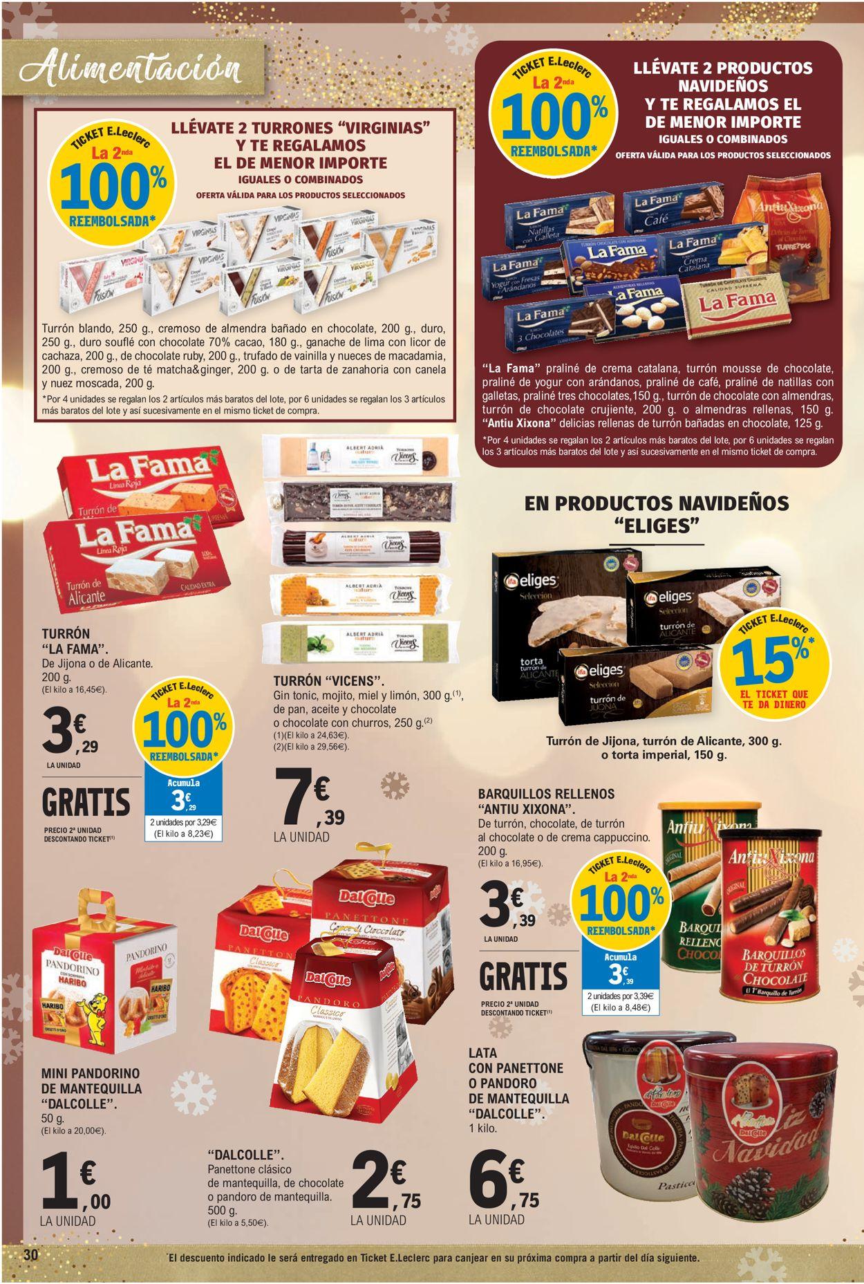 E.leclerc Navidad 2020 Folleto - 09.12-24.12.2020 (Página 30)