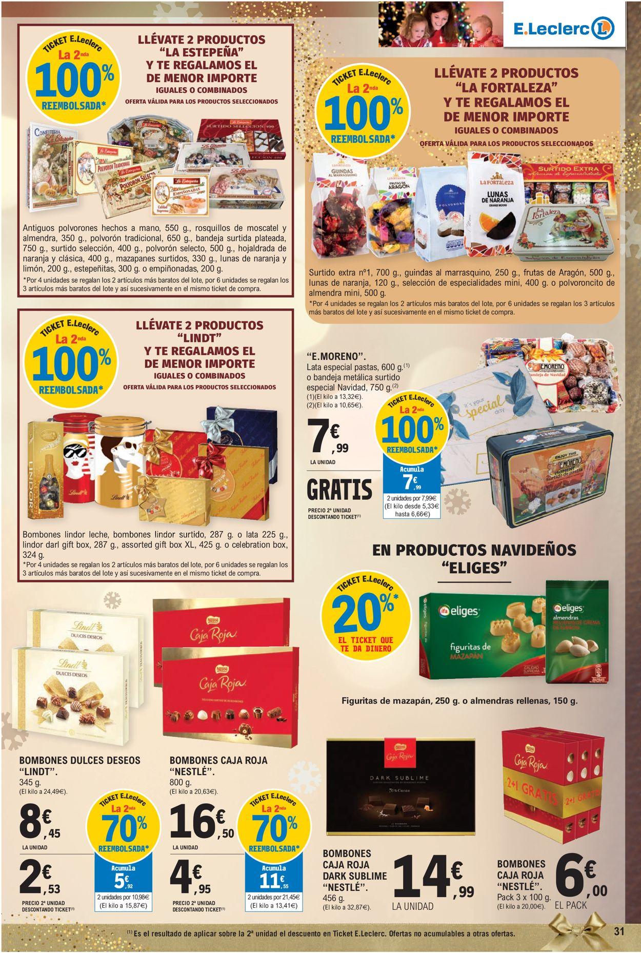 E.leclerc Navidad 2020 Folleto - 09.12-24.12.2020 (Página 31)