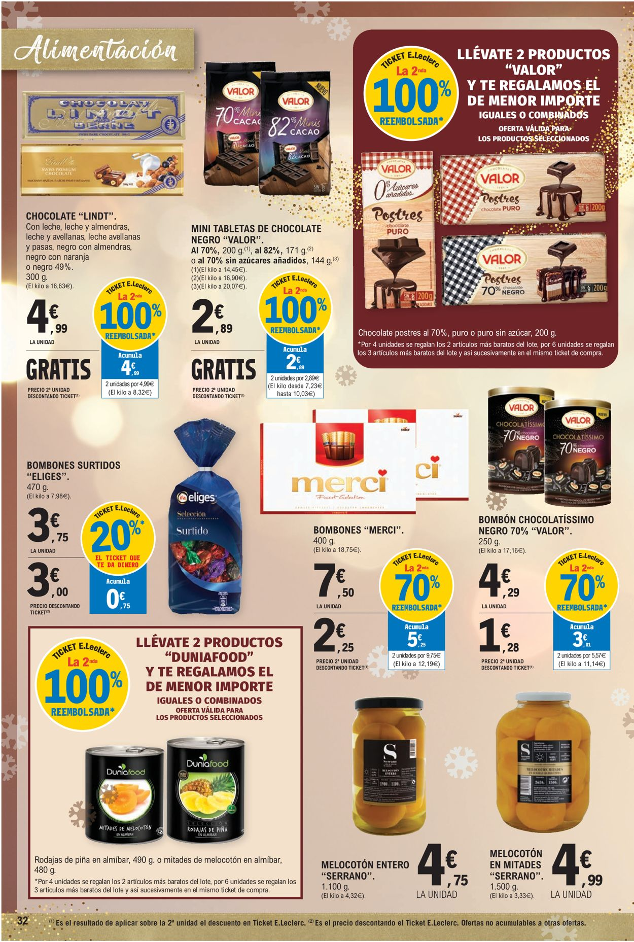 E.leclerc Navidad 2020 Folleto - 09.12-24.12.2020 (Página 32)