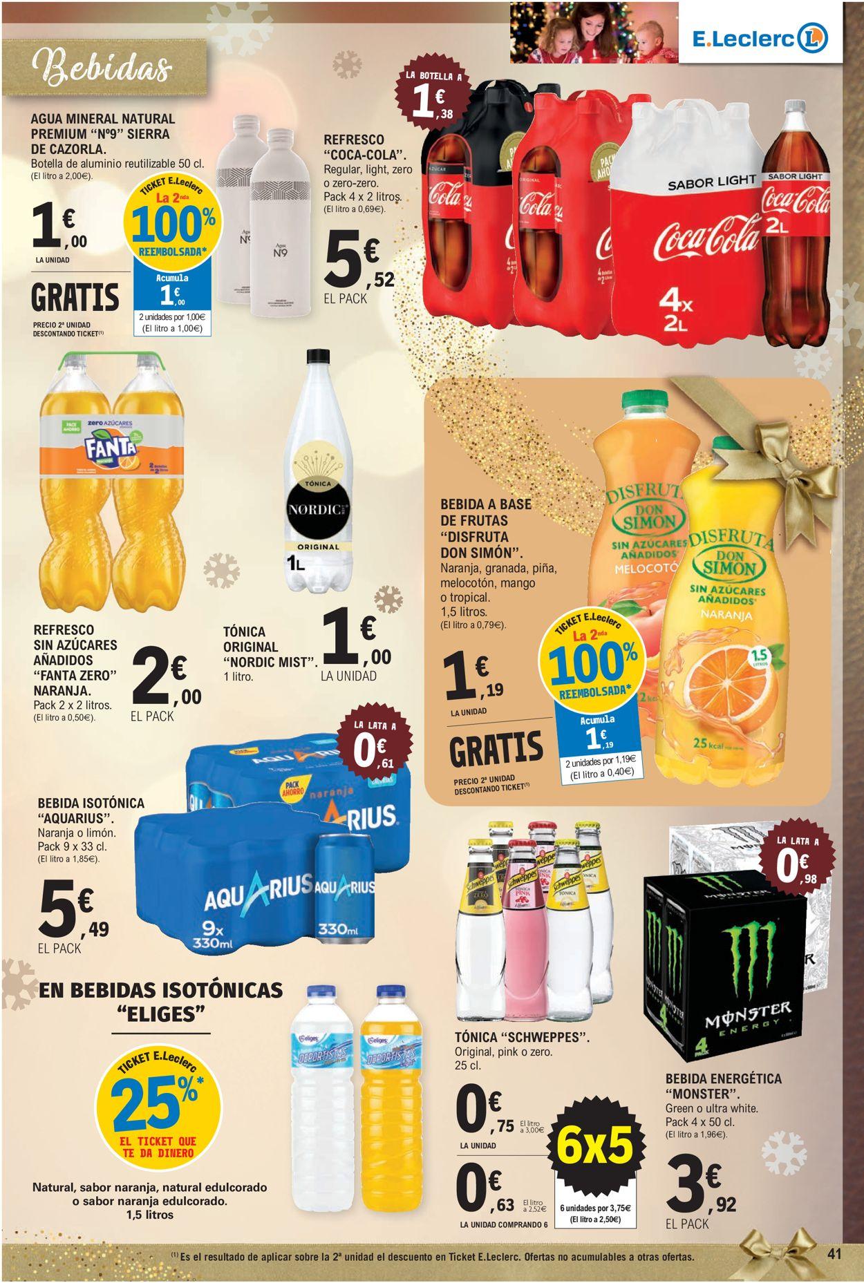 E.leclerc Navidad 2020 Folleto - 09.12-24.12.2020 (Página 41)