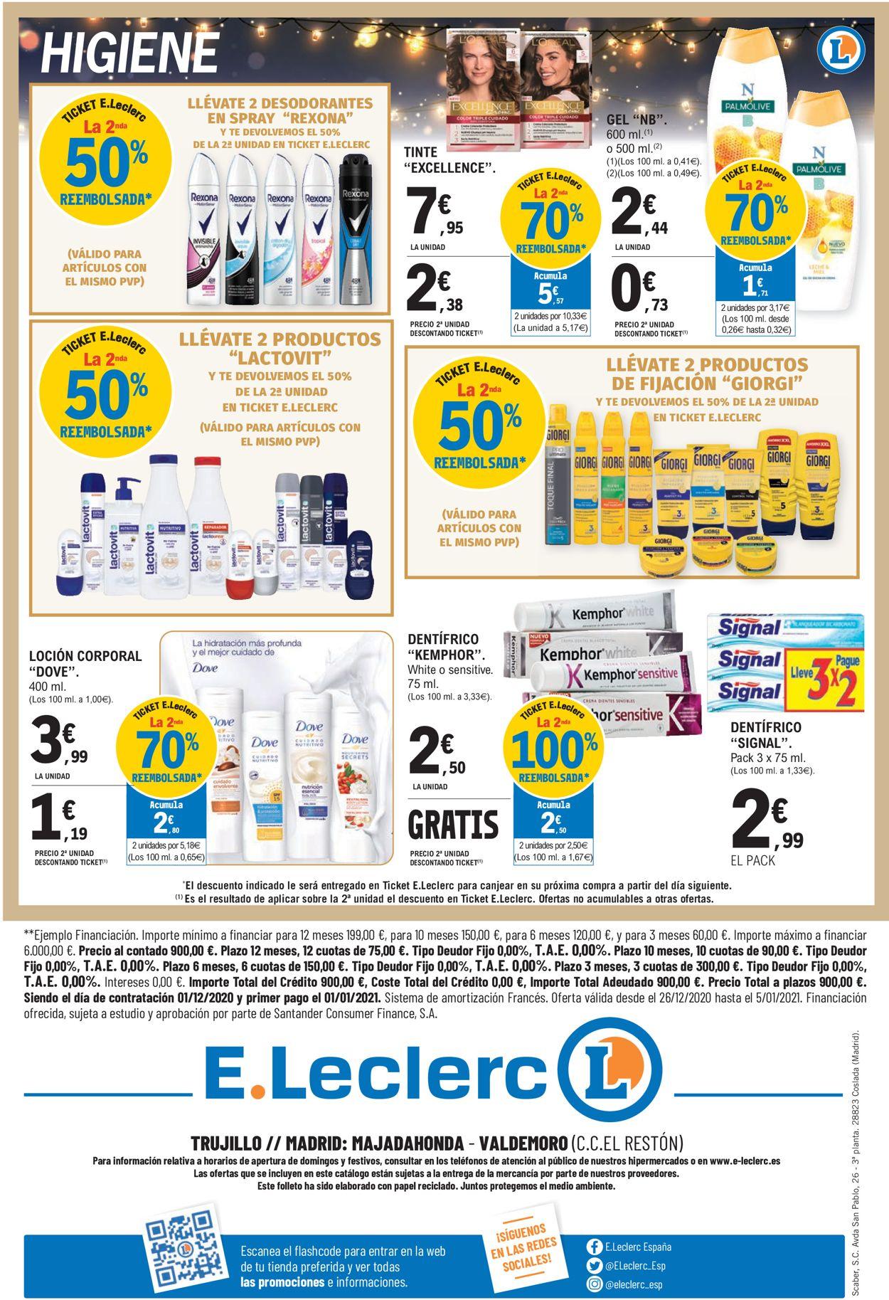 E.leclerc Folleto - 26.12-05.01.2021 (Página 40)