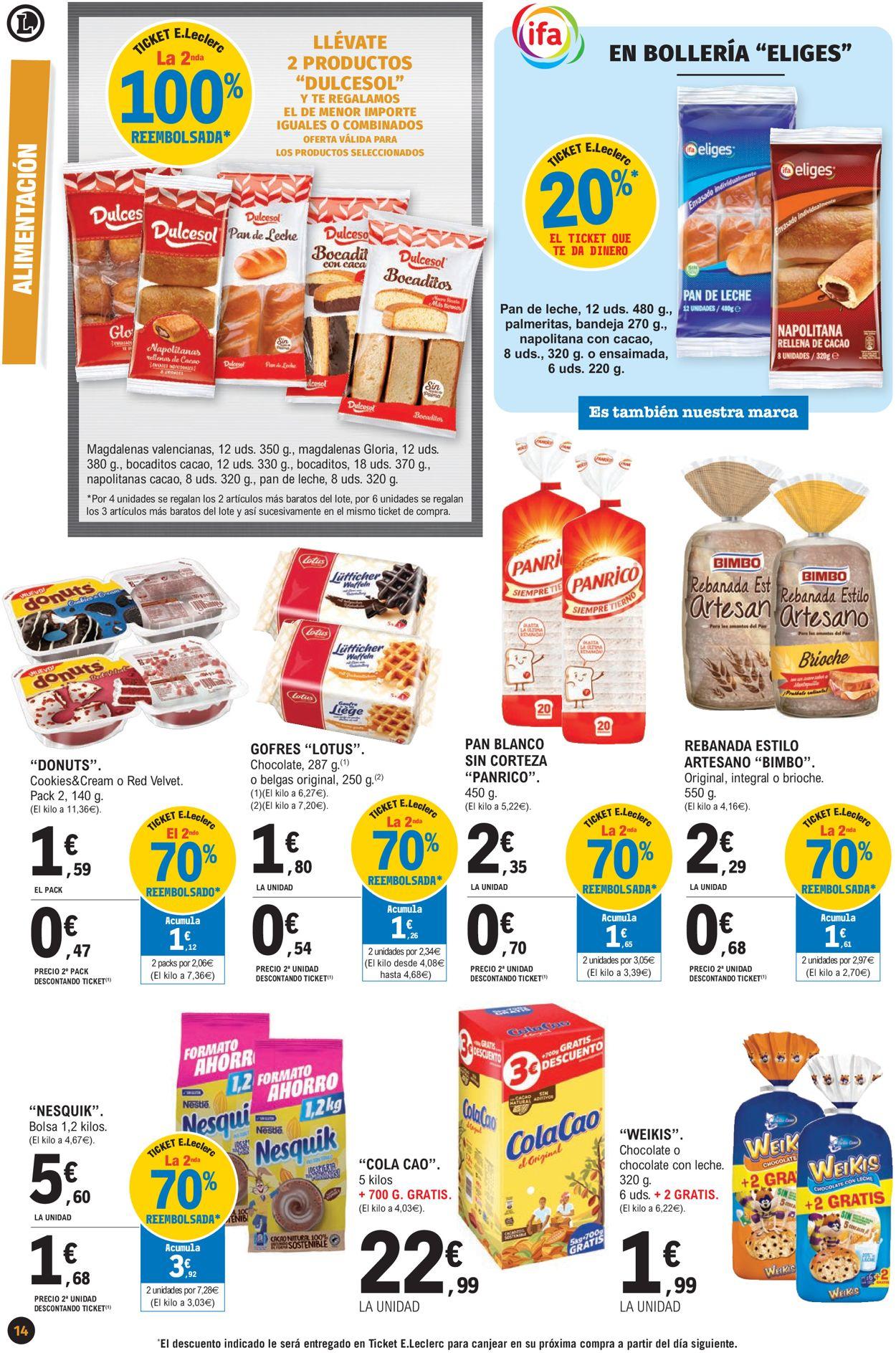 E.leclerc Súper Precios 2021 Folleto - 07.01-17.01.2021 (Página 14)