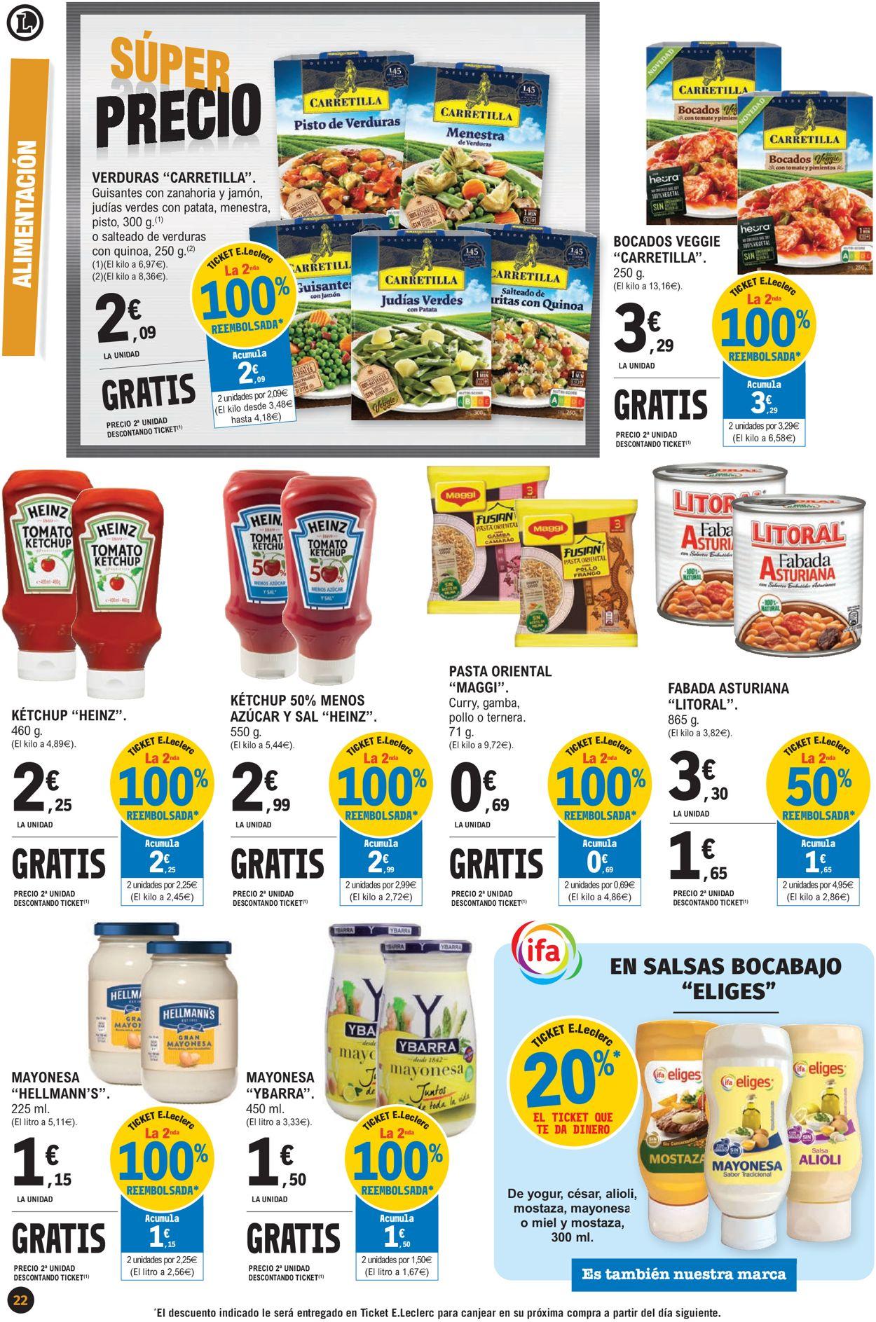 E.leclerc Súper Precios 2021 Folleto - 07.01-17.01.2021 (Página 22)