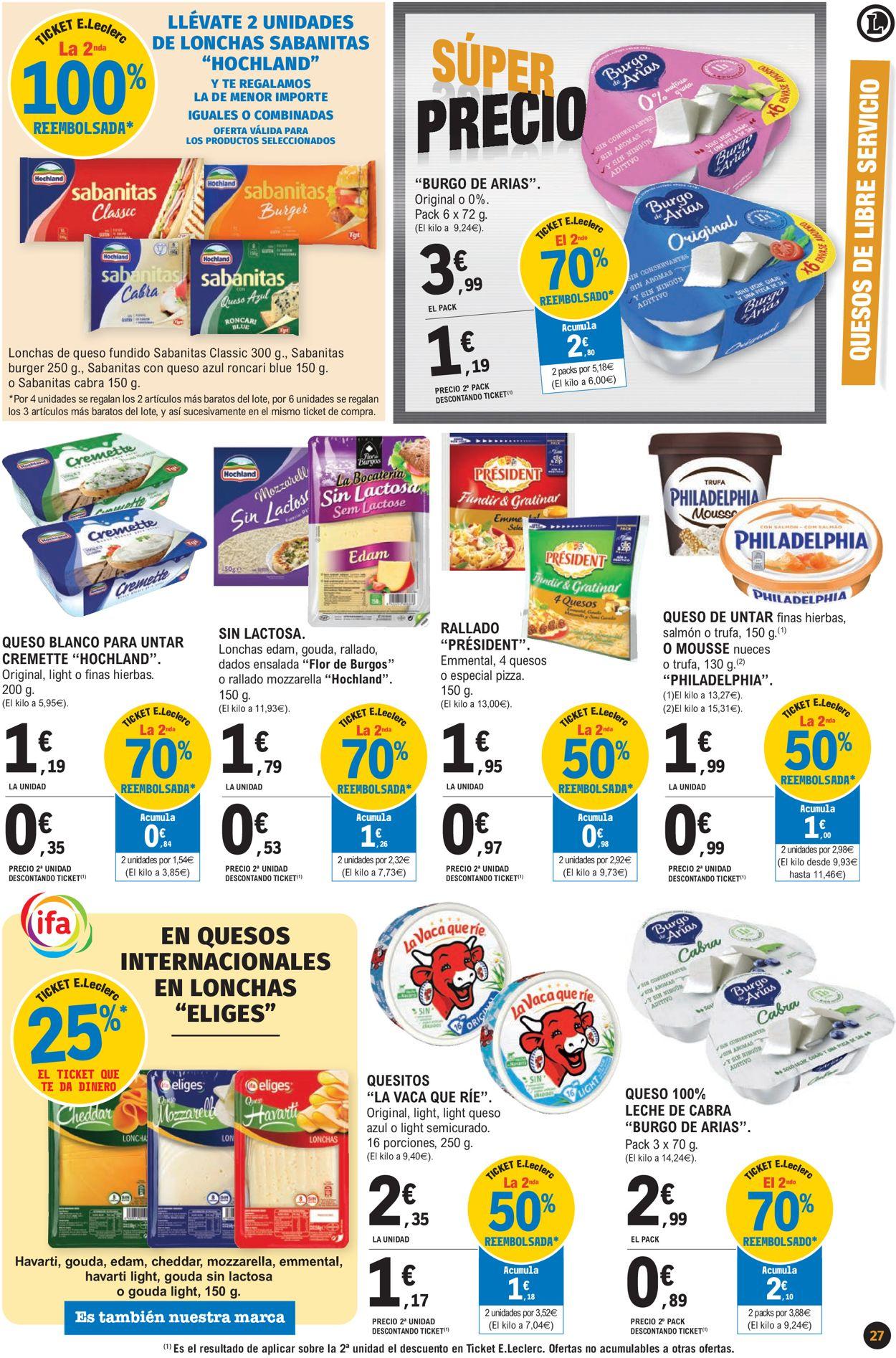 E.leclerc Súper Precios 2021 Folleto - 07.01-17.01.2021 (Página 27)